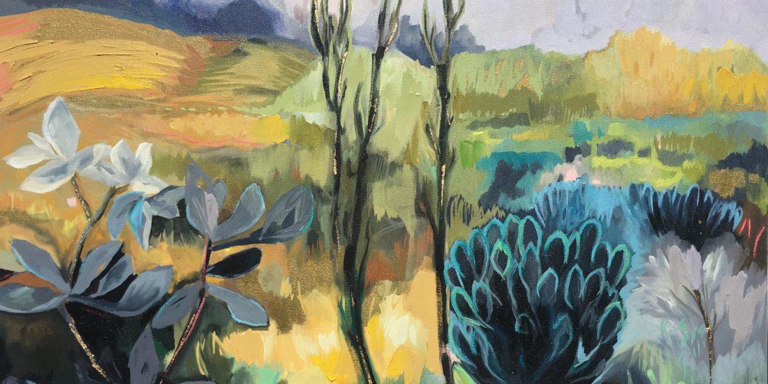 Vicky Sanders Abstract Botanical - Boland Landscape
