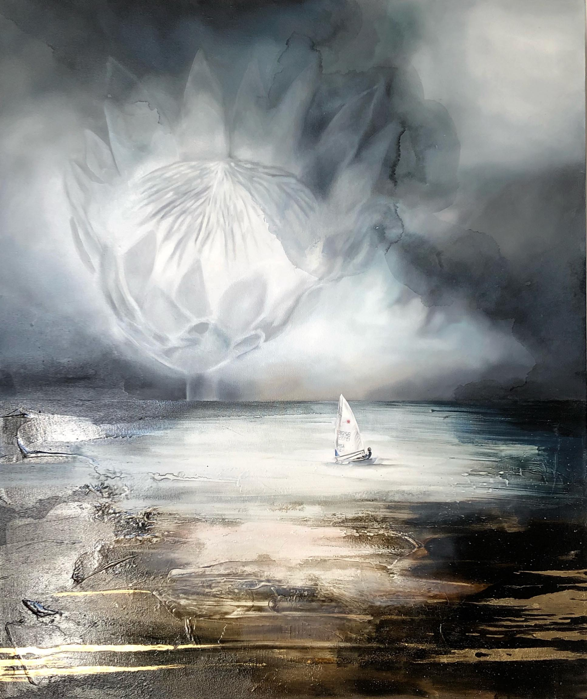 Vicky Sanders Seascapes - In Memory of Cullen