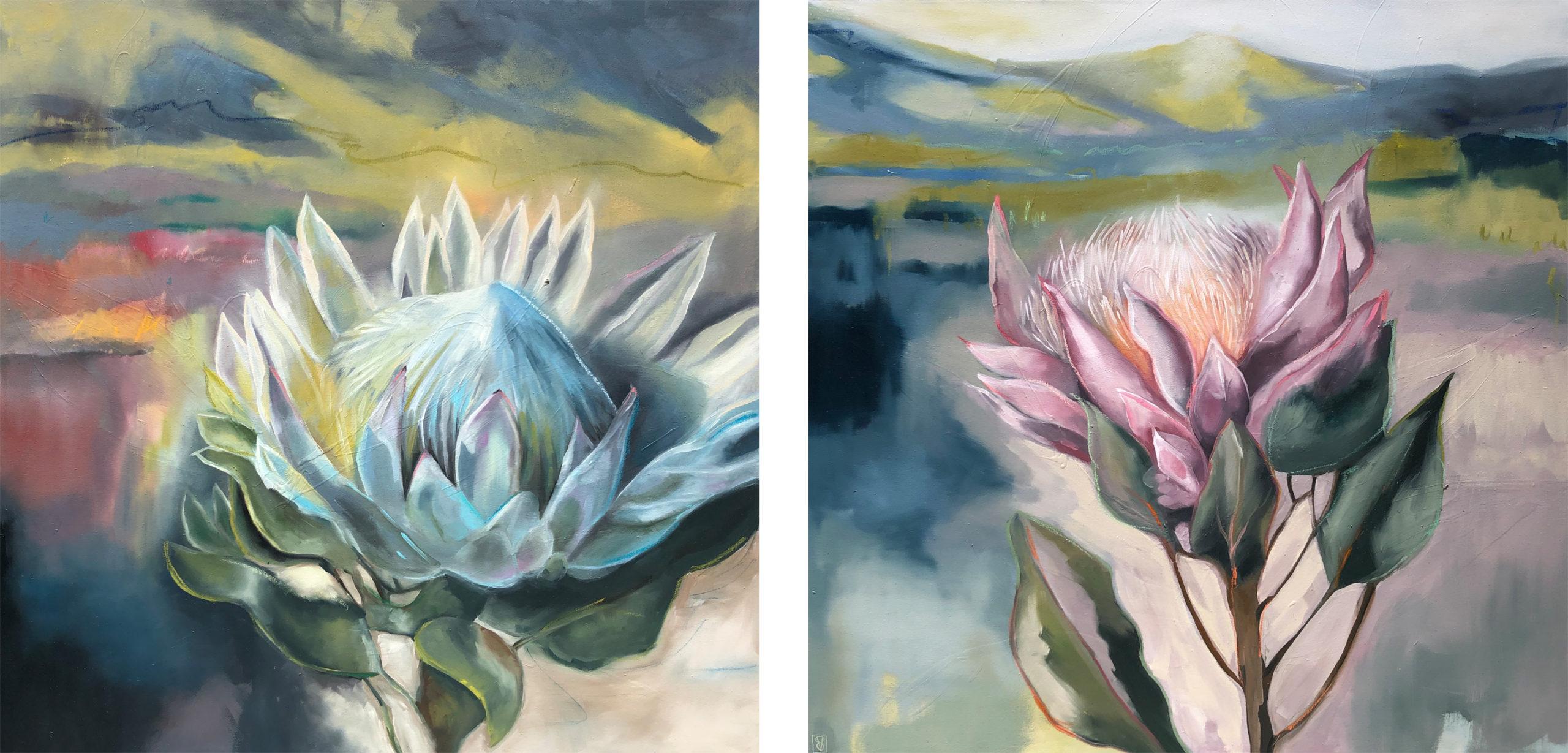 Vicky Sanders Protea - Kim's Proteas