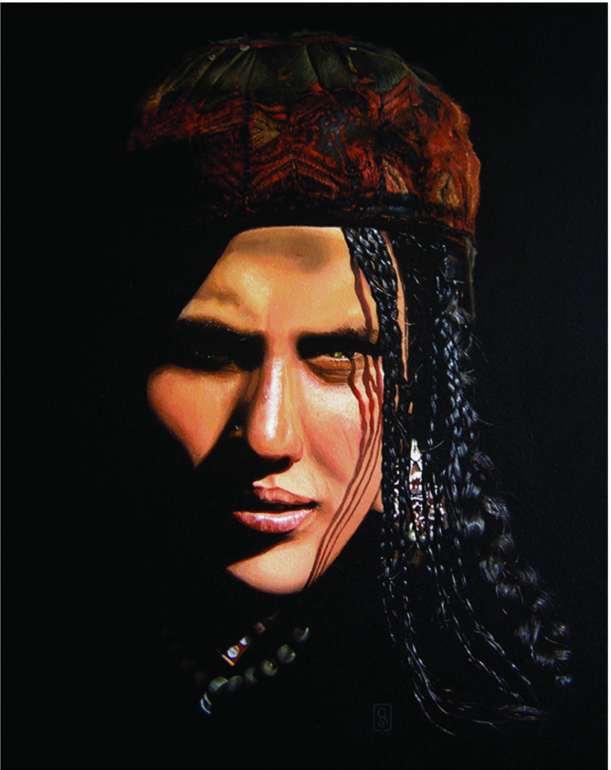 Vicky Sanders Realistic - Afghan Woman