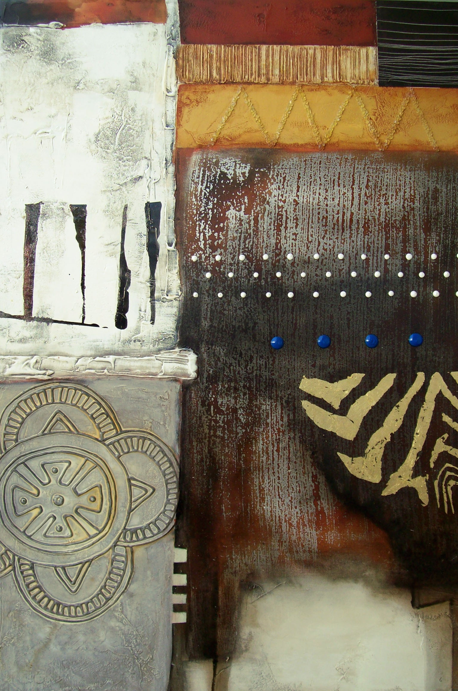 Vicky Sanders Abstract - Africa