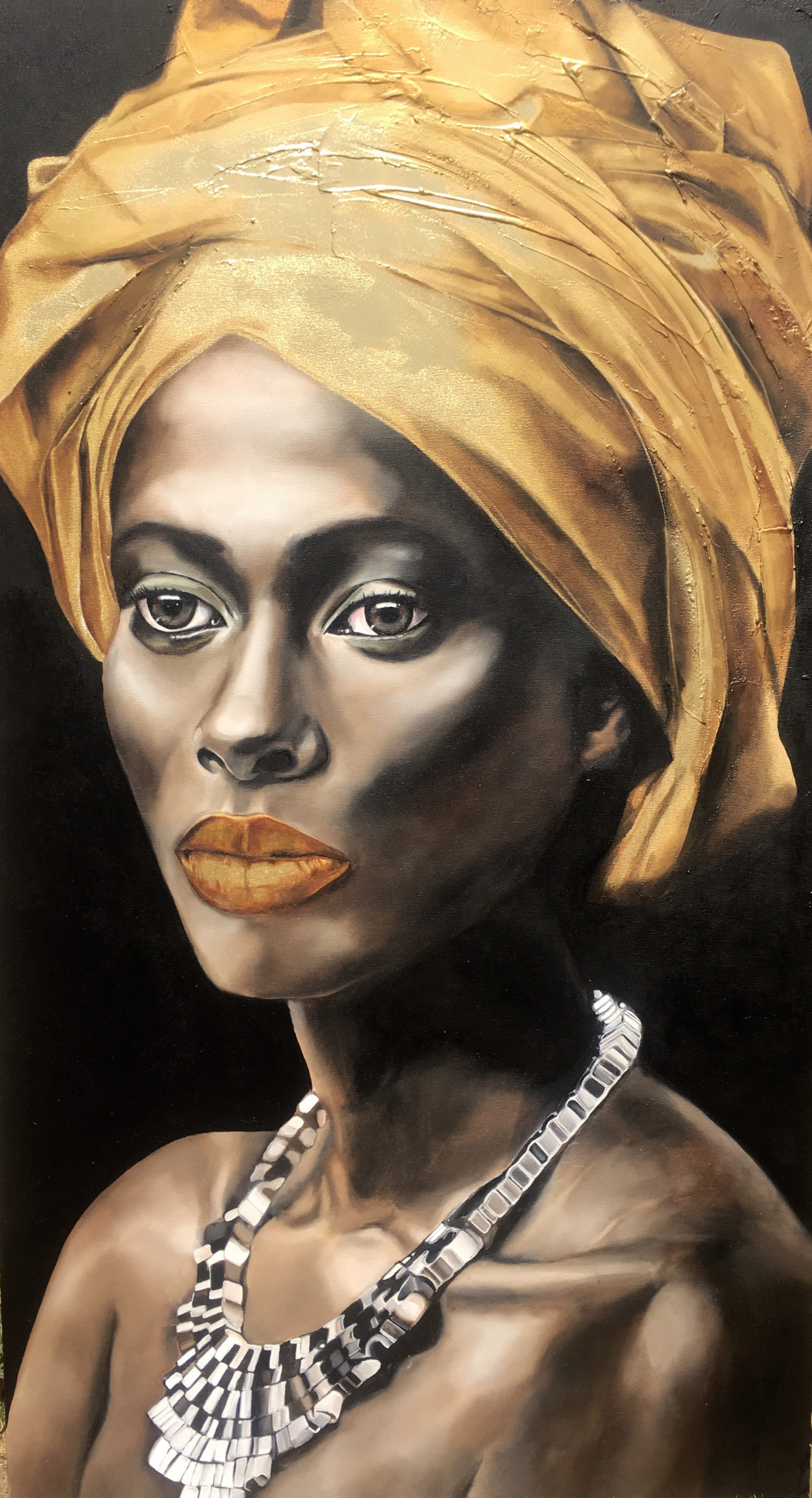 Vicky Sanders Realistic - African Portrait #1