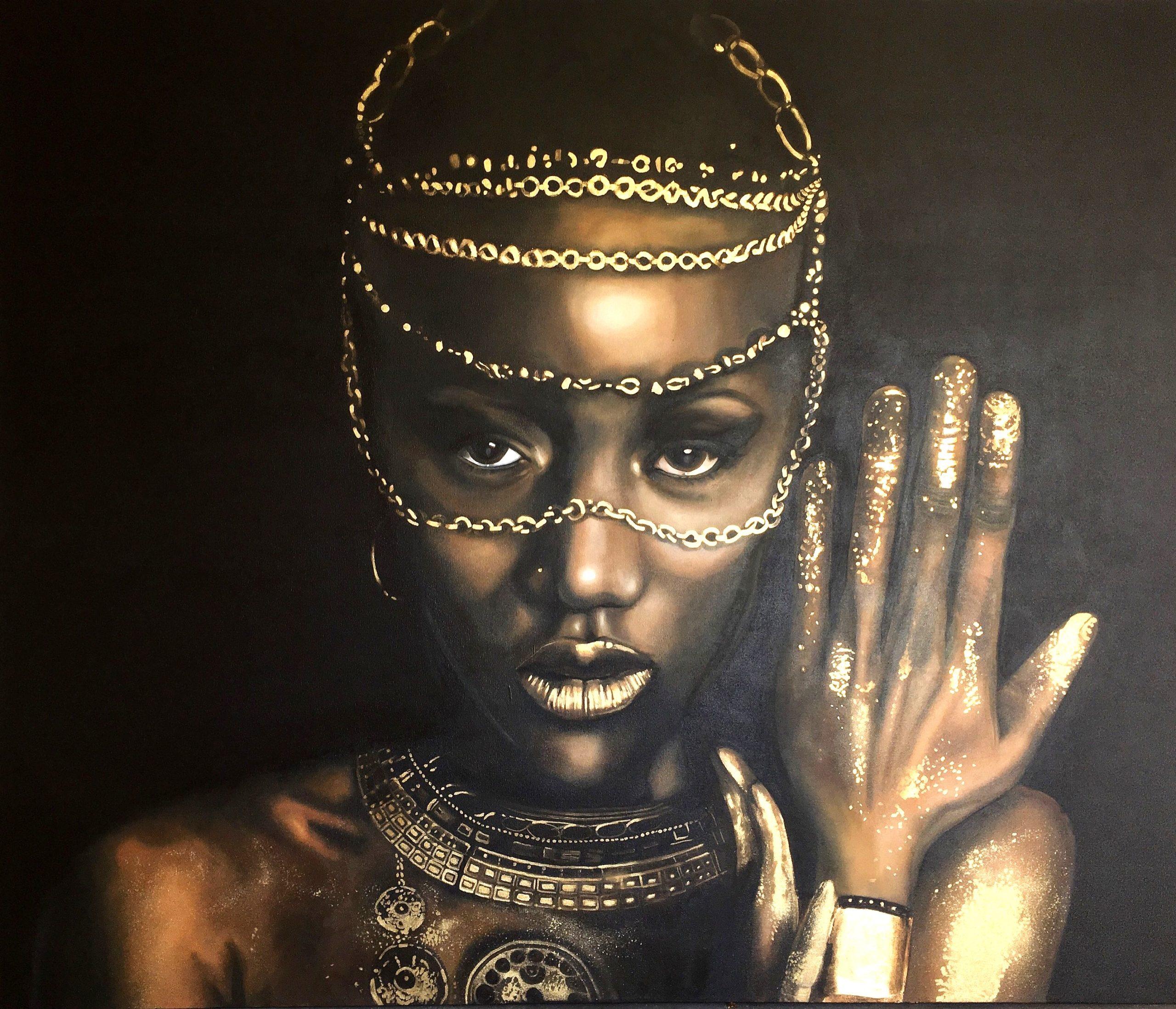 Vicky Sanders Realistic - African Queen