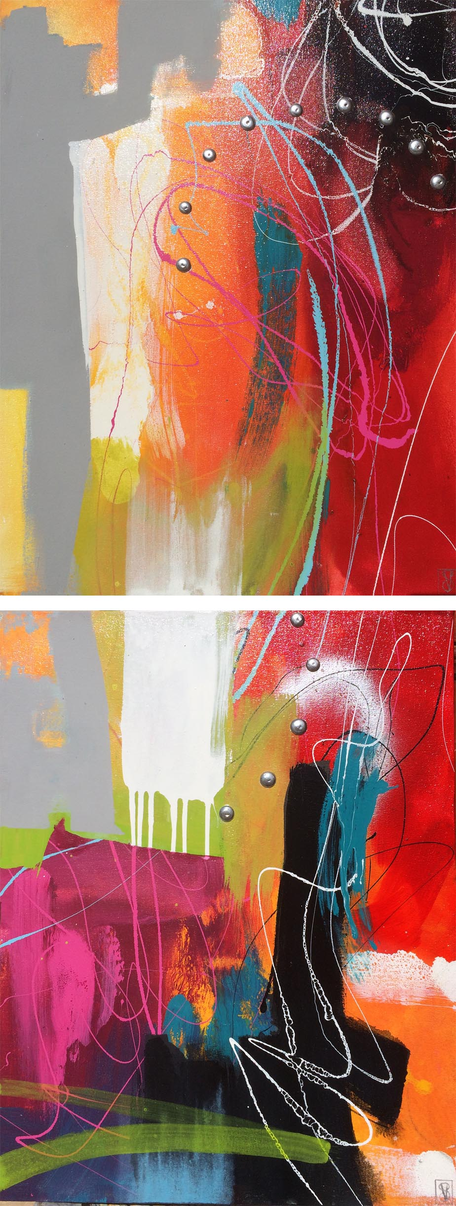 Vicky Sanders Abstract - All That Jazz