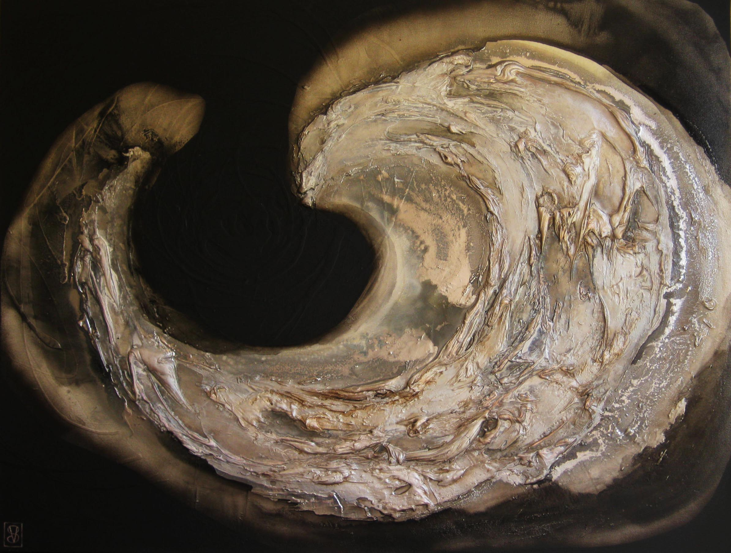 Vicky Sanders Oyster Series - Black Pearl #1