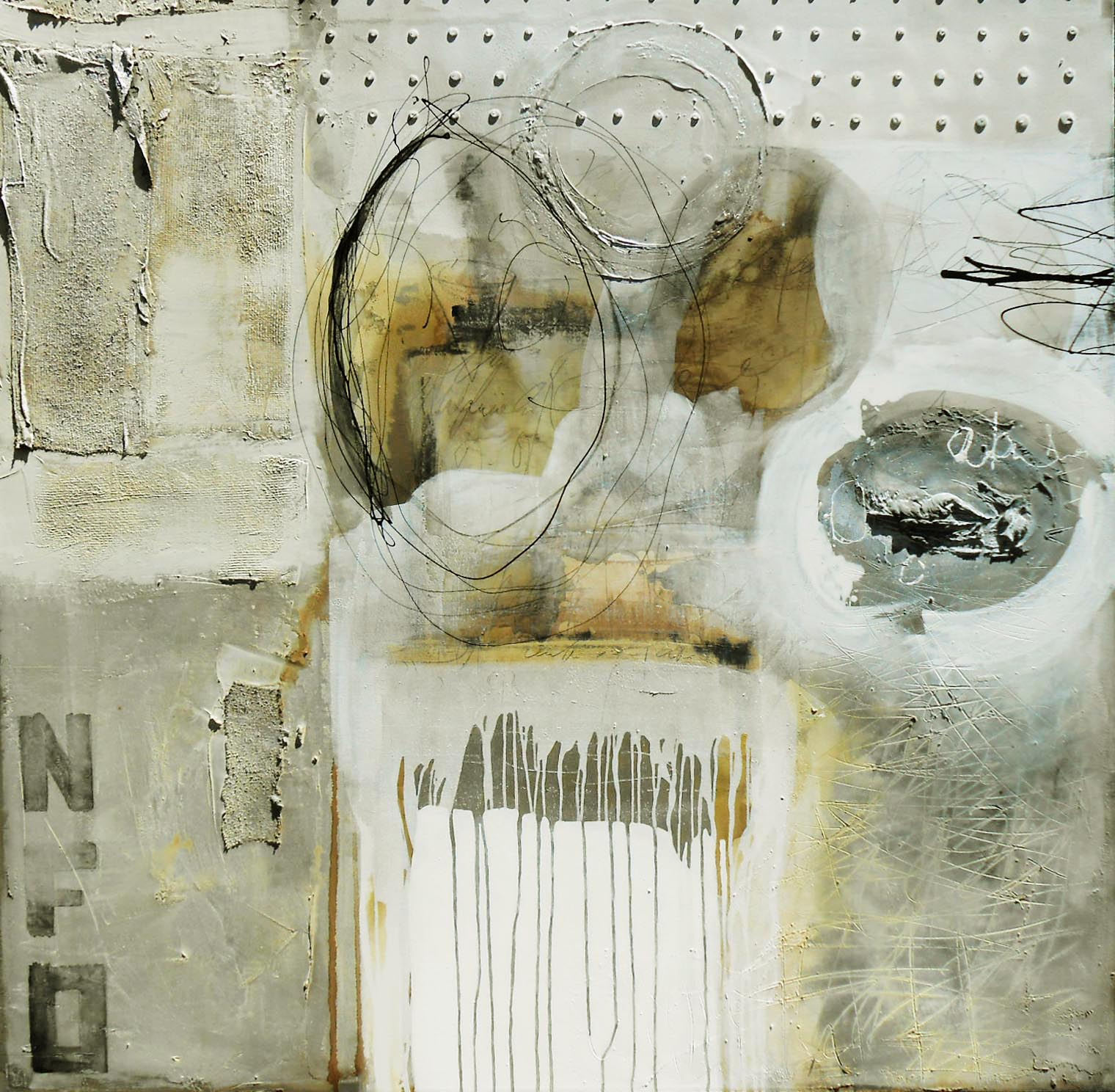 Vicky Sanders Abstract - Bleached