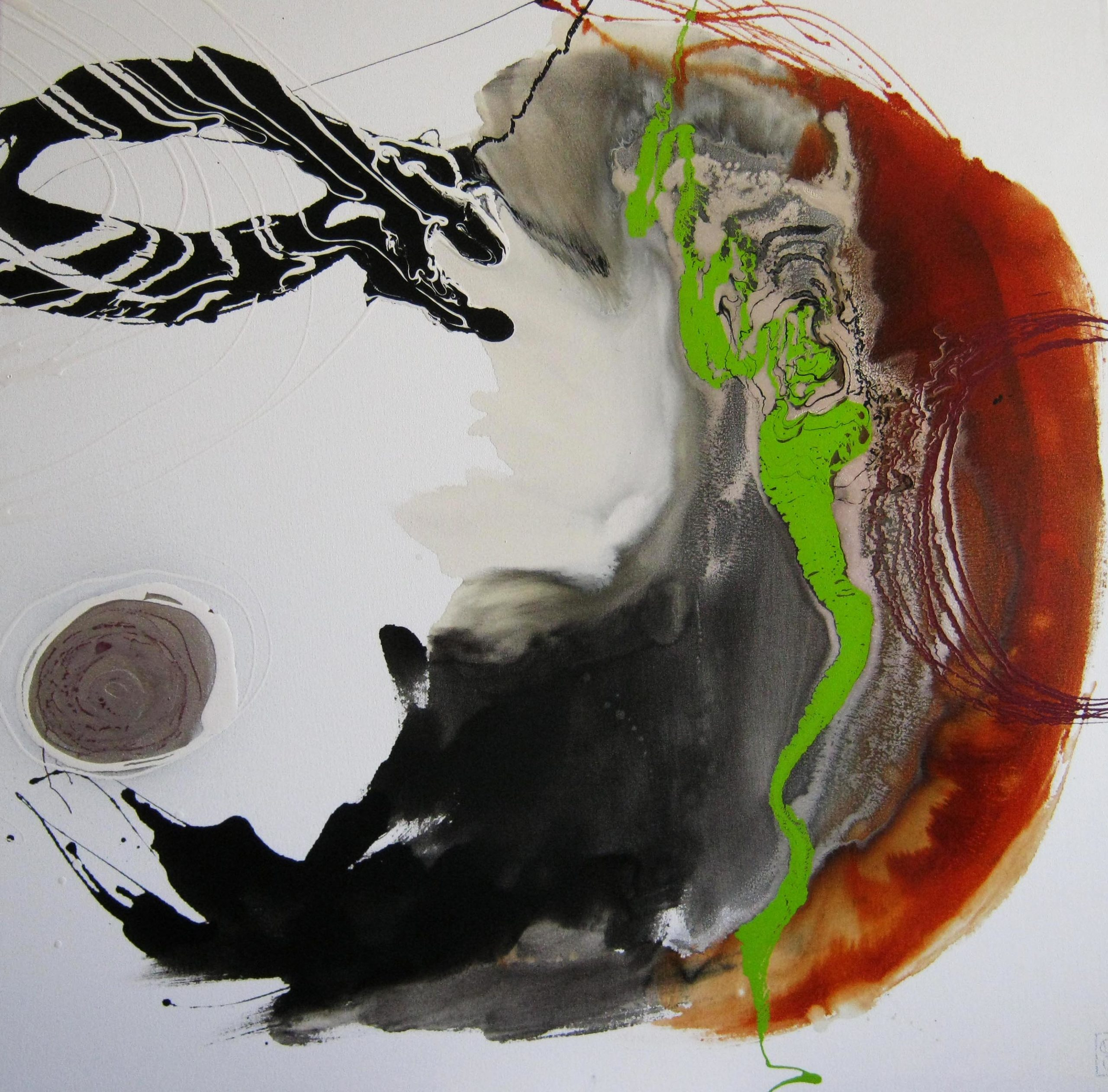 Vicky Sanders Abstract - Bloody Mary