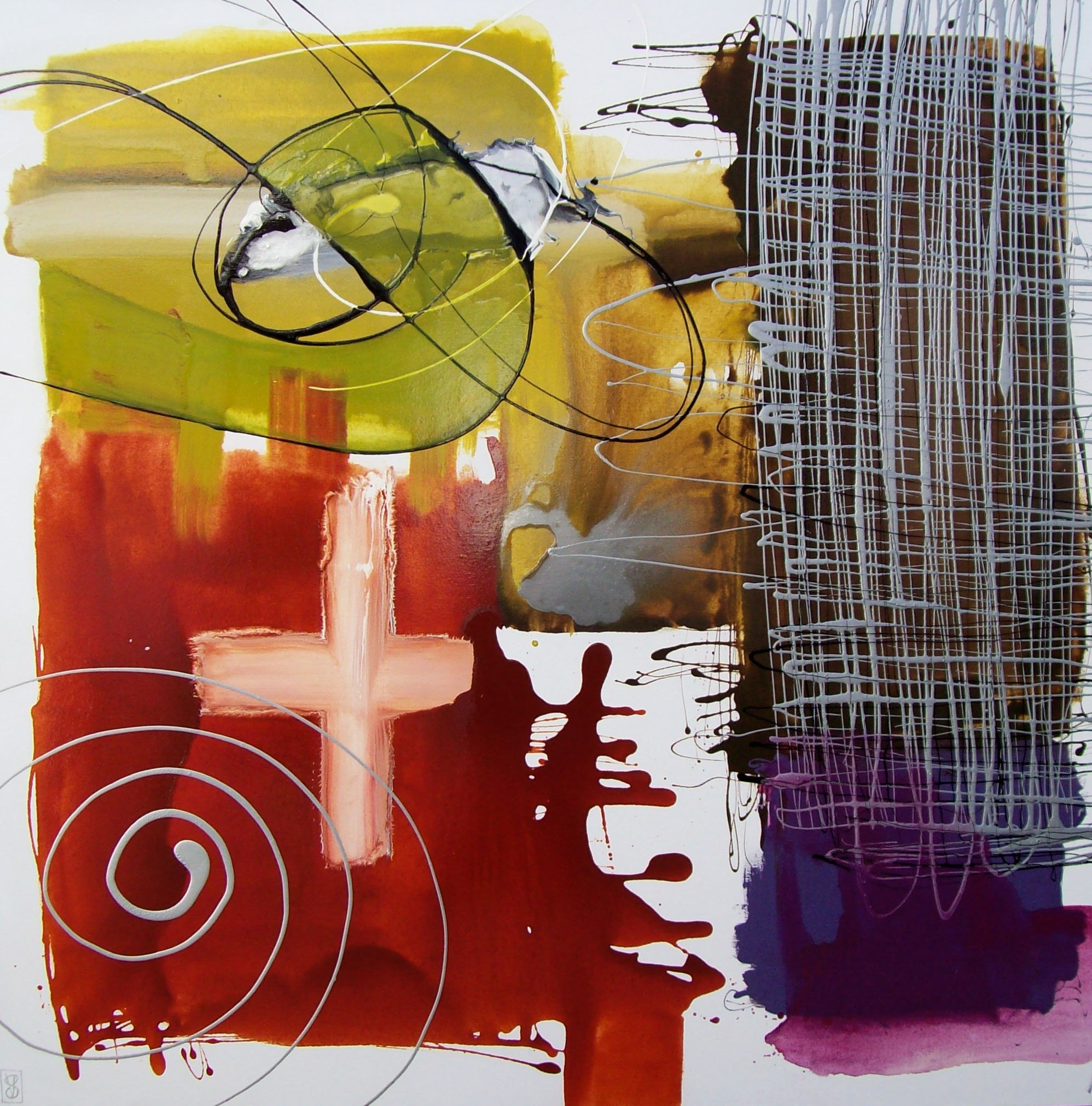 Vicky Sanders Abstract - Dance With Me