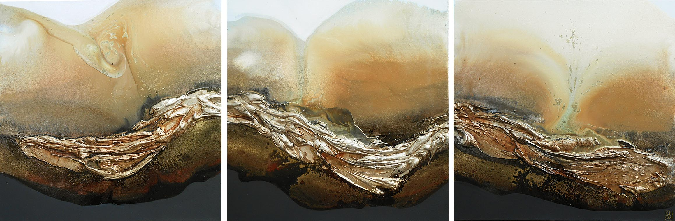 Vicky Sanders Abstract - Earth Trilogy