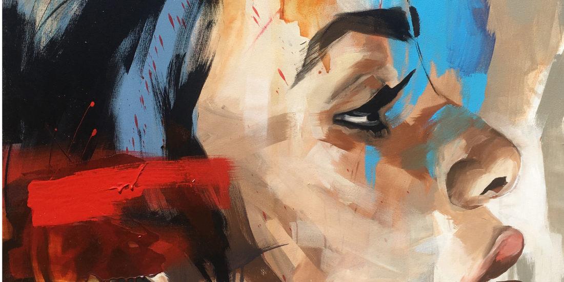 Vicky Sanders Portraits - Face #1