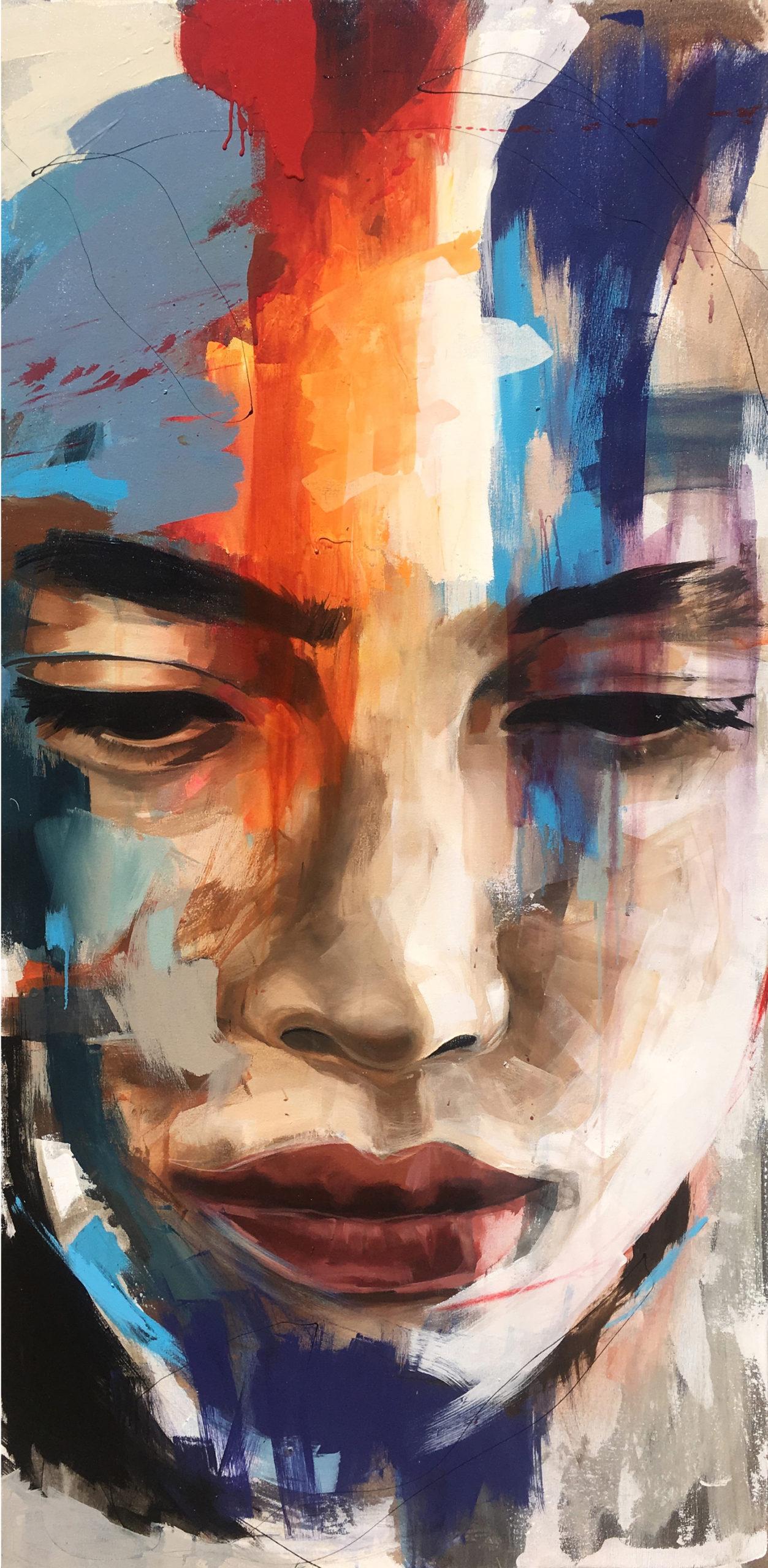 Vicky Sanders Portraits - Face #2