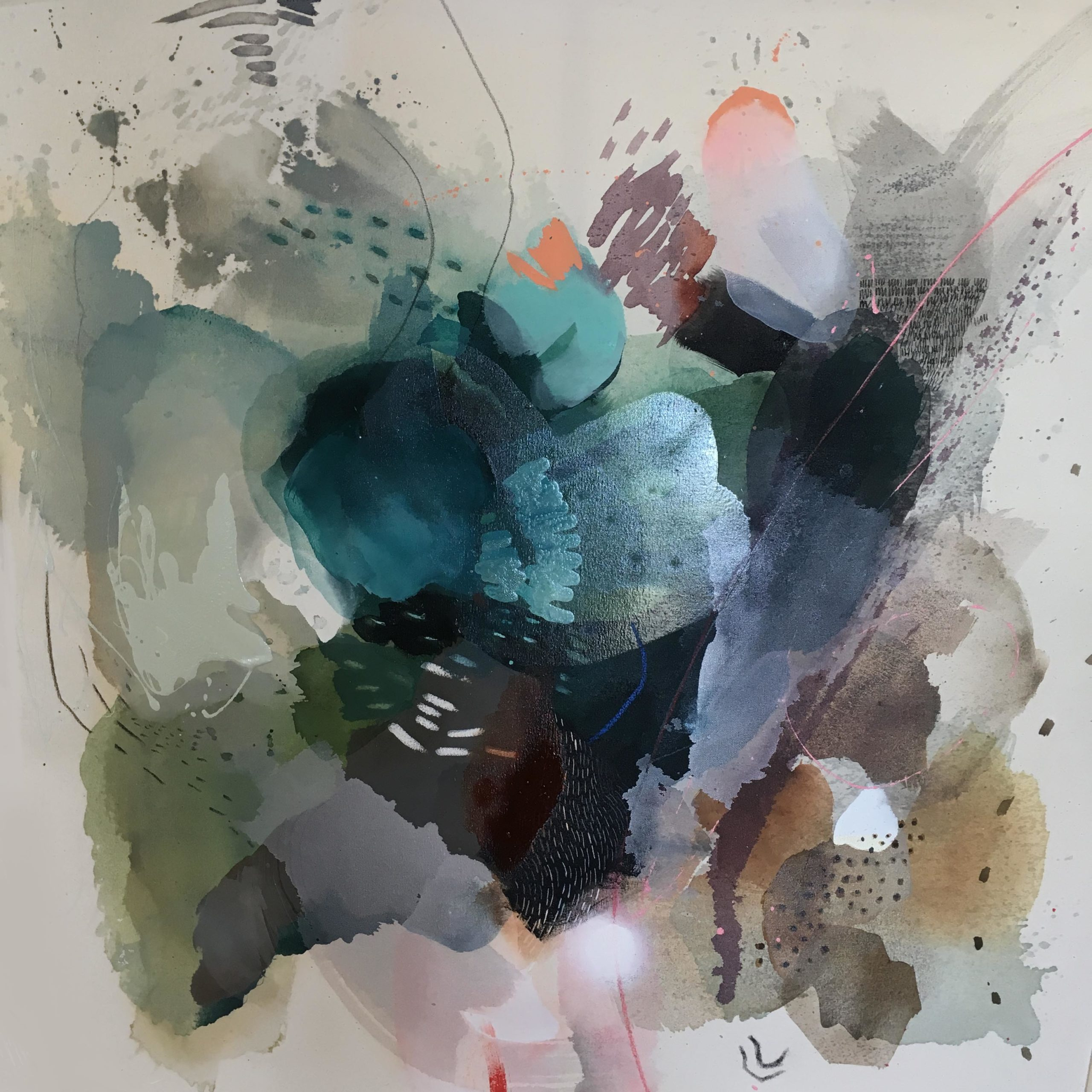 Vicky Sanders Abstract - Found Objects