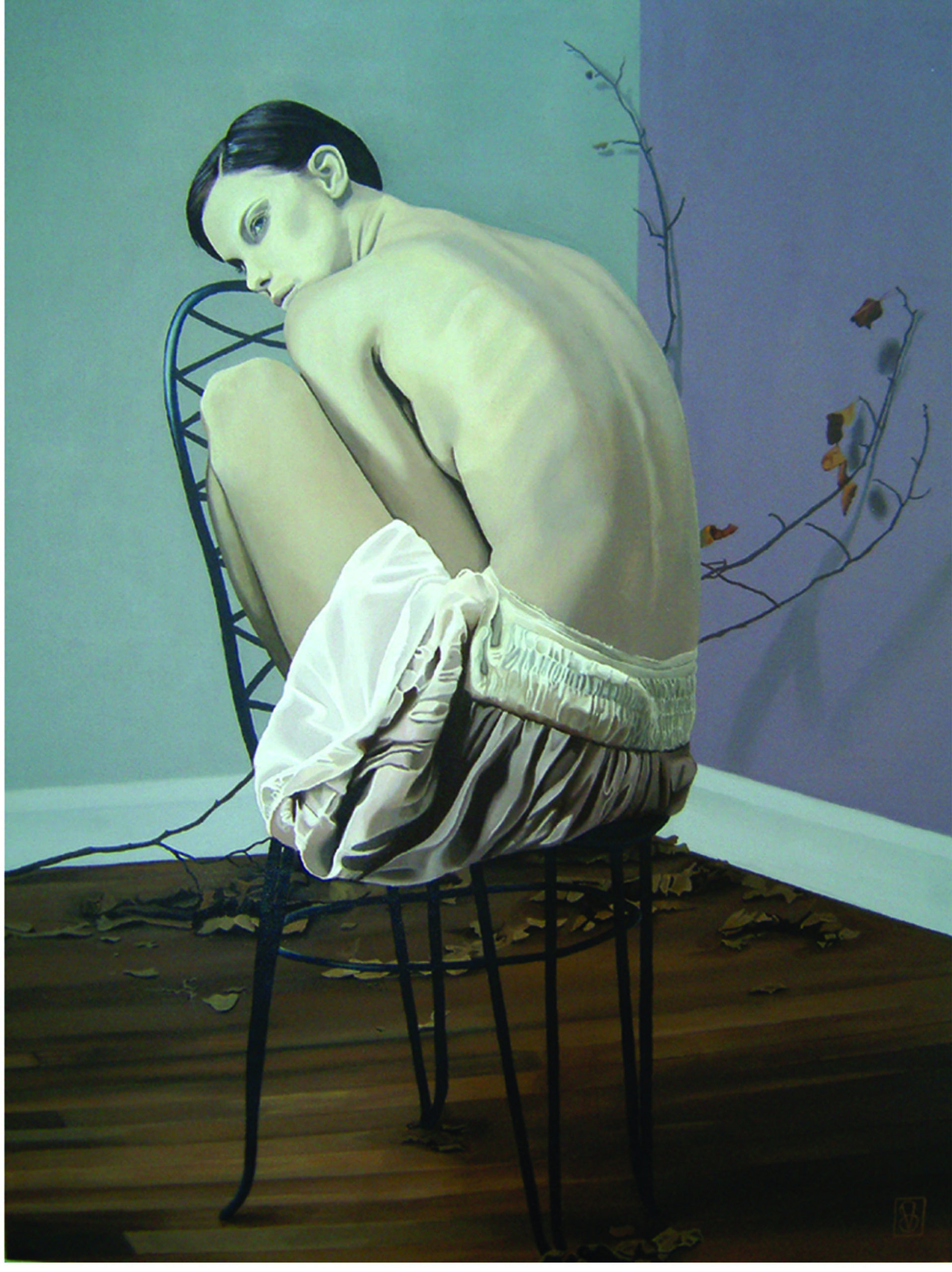 Vicky Sanders Realistic - Girl on Chair