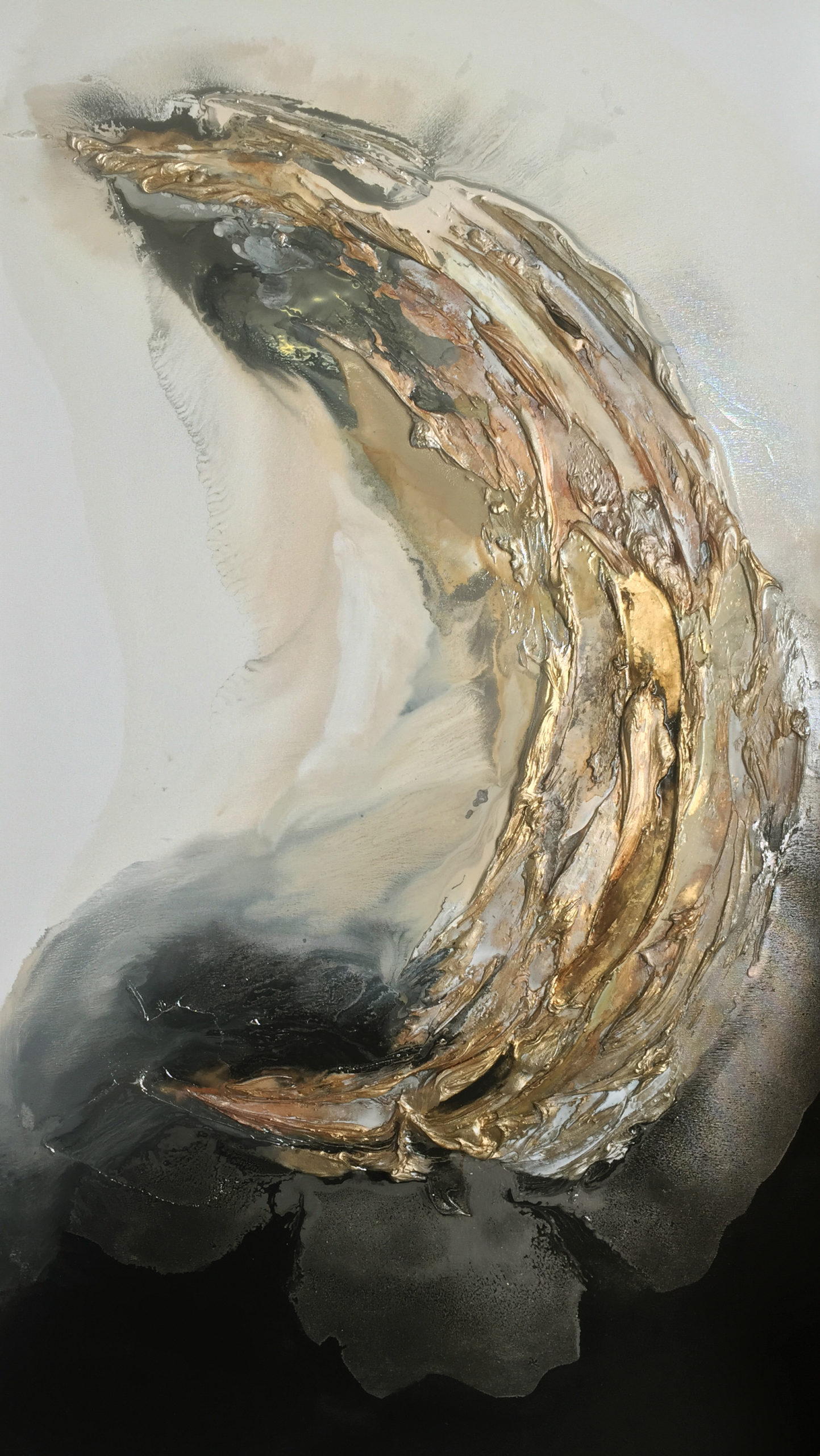 Vicky Sanders Oyster Series - Gold Oyster