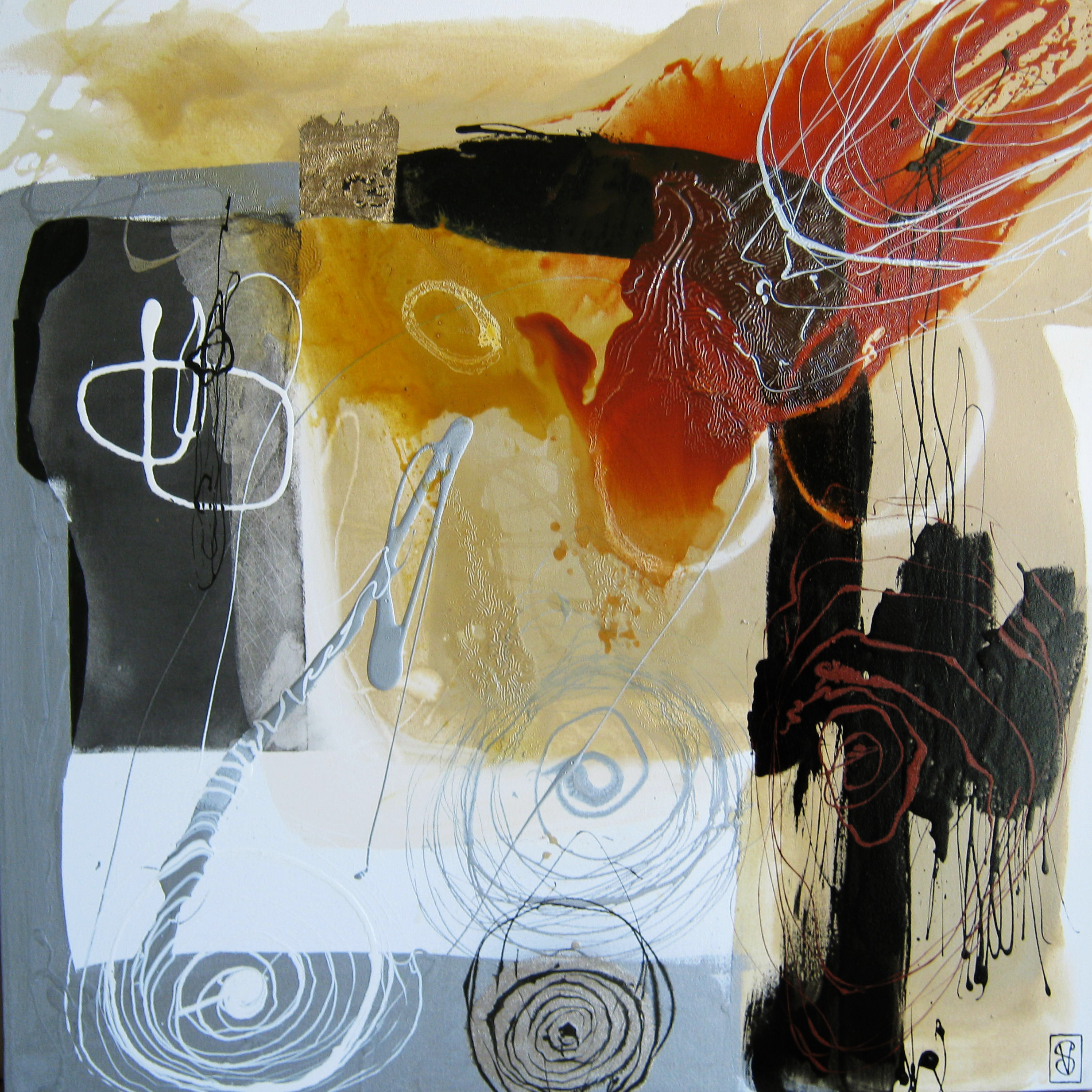 Vicky Sanders Abstract - Hypnotic