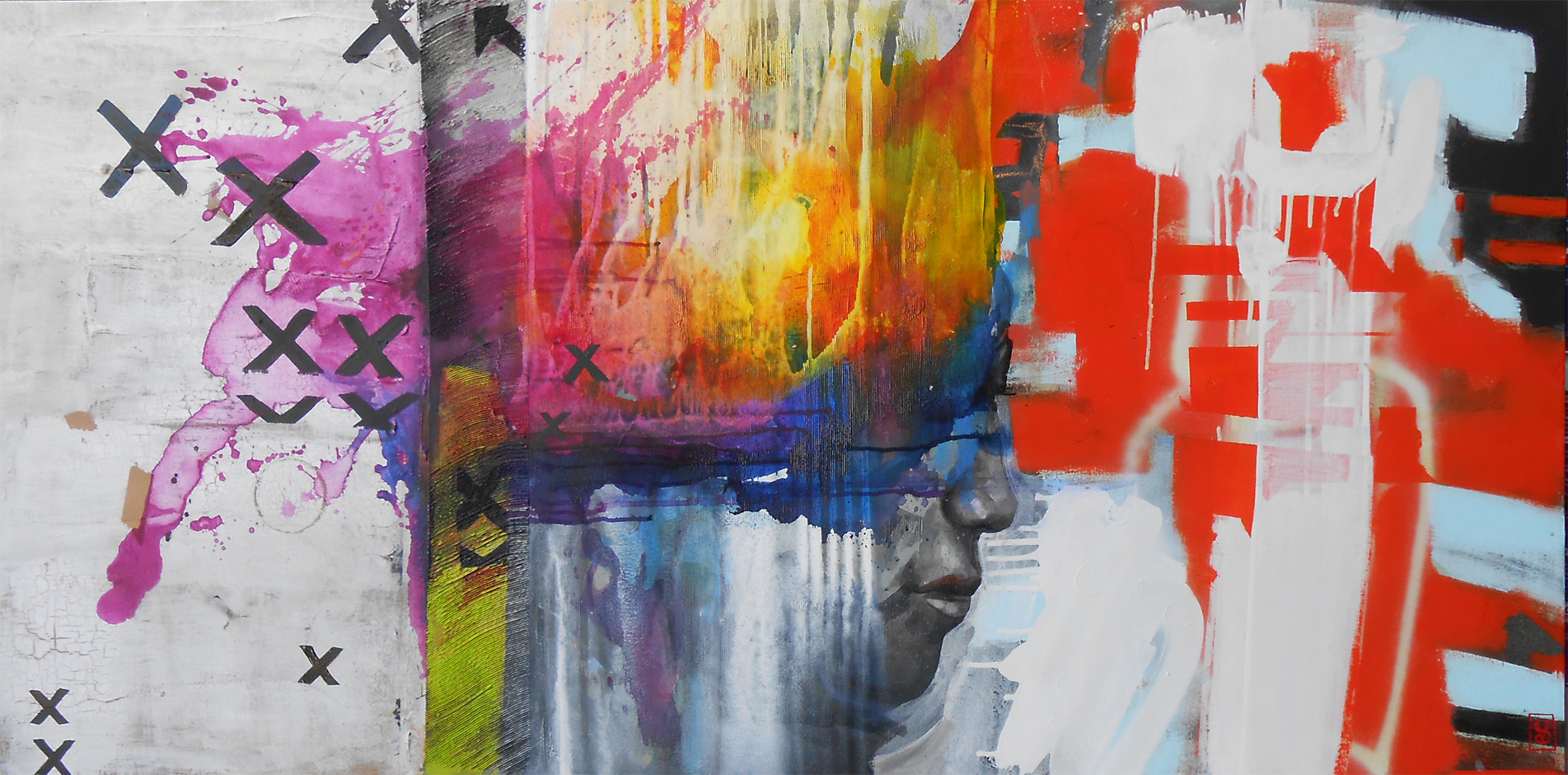 Vicky Sanders Abstract - Imagination