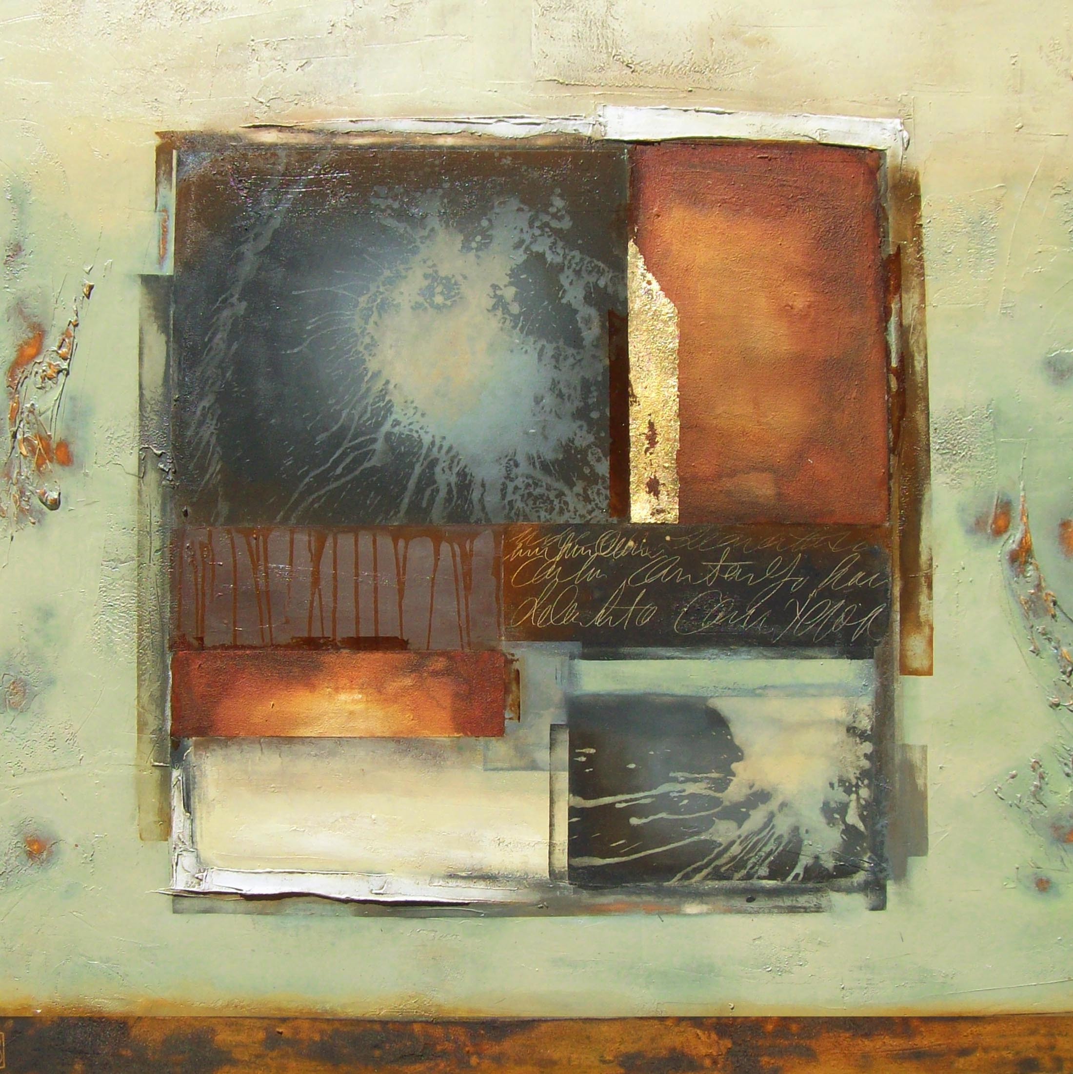 Vicky Sanders Abstract - Inner Space