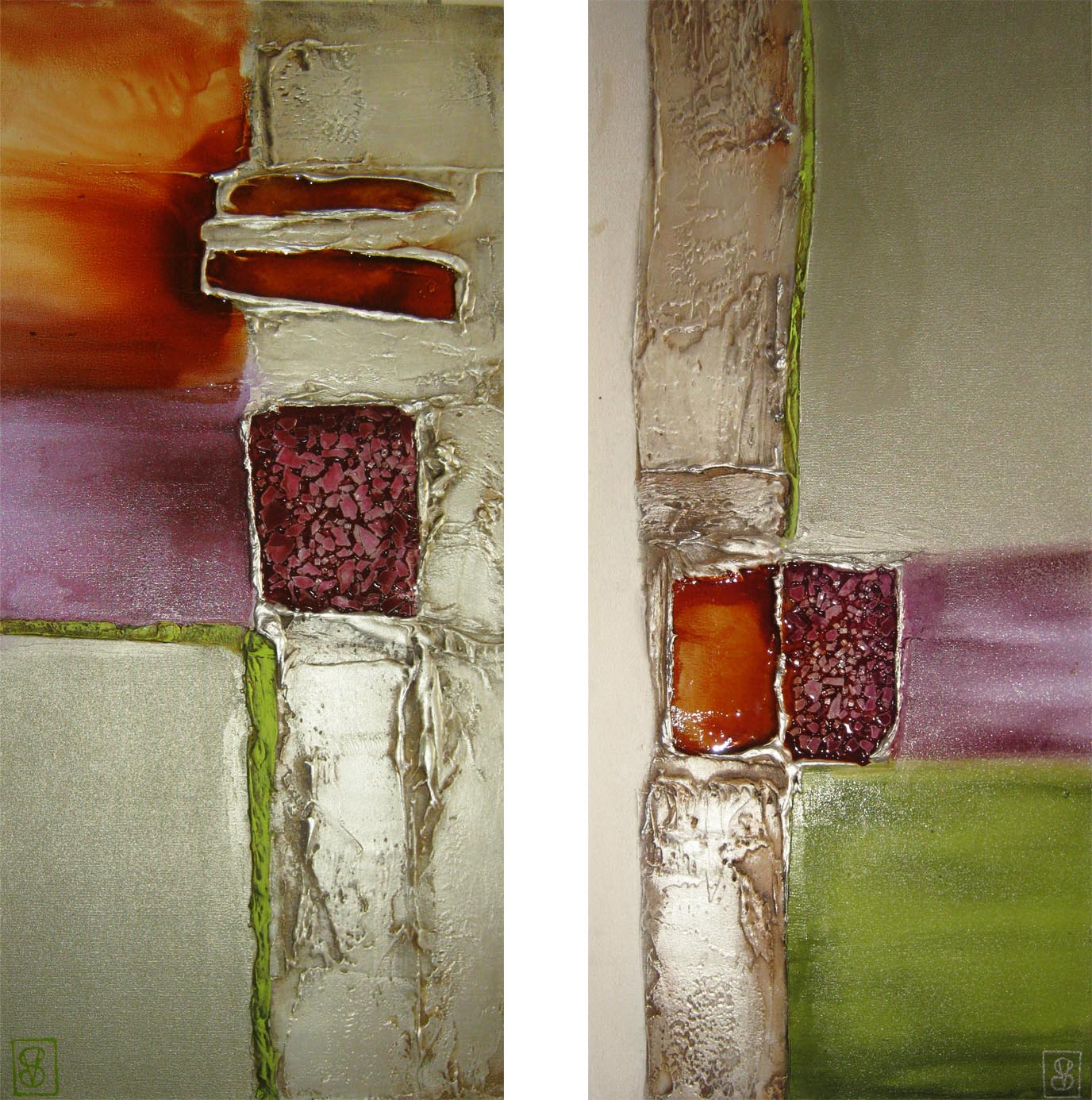 Vicky Sanders Abstract - Jewels