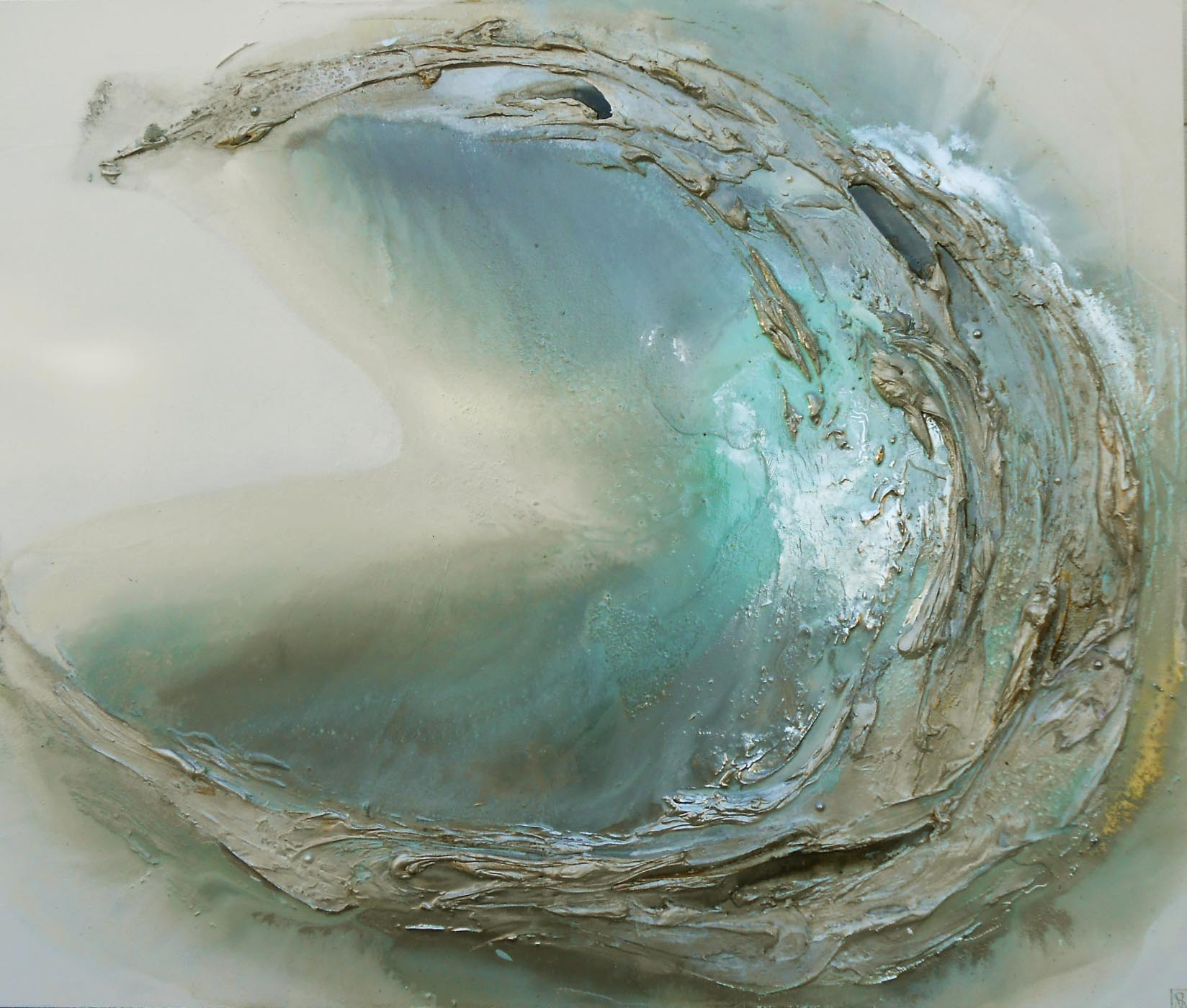 Vicky Sanders Oyster Series - Light Blue Oyster