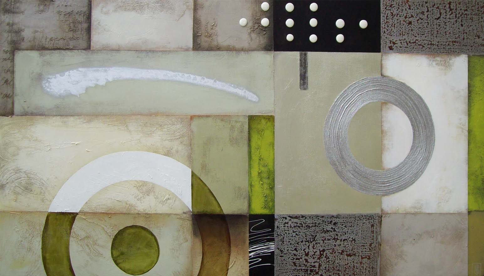 Vicky Sanders Abstract - Lime Wire