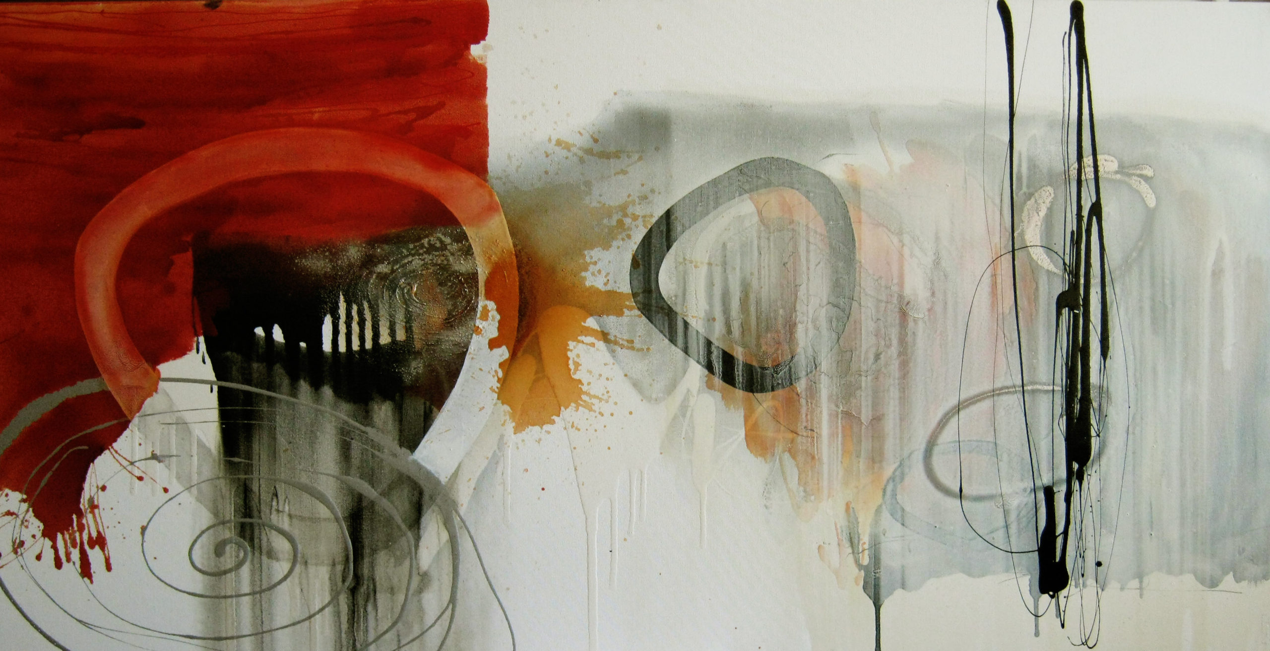 Vicky Sanders Abstract - Lost Souls