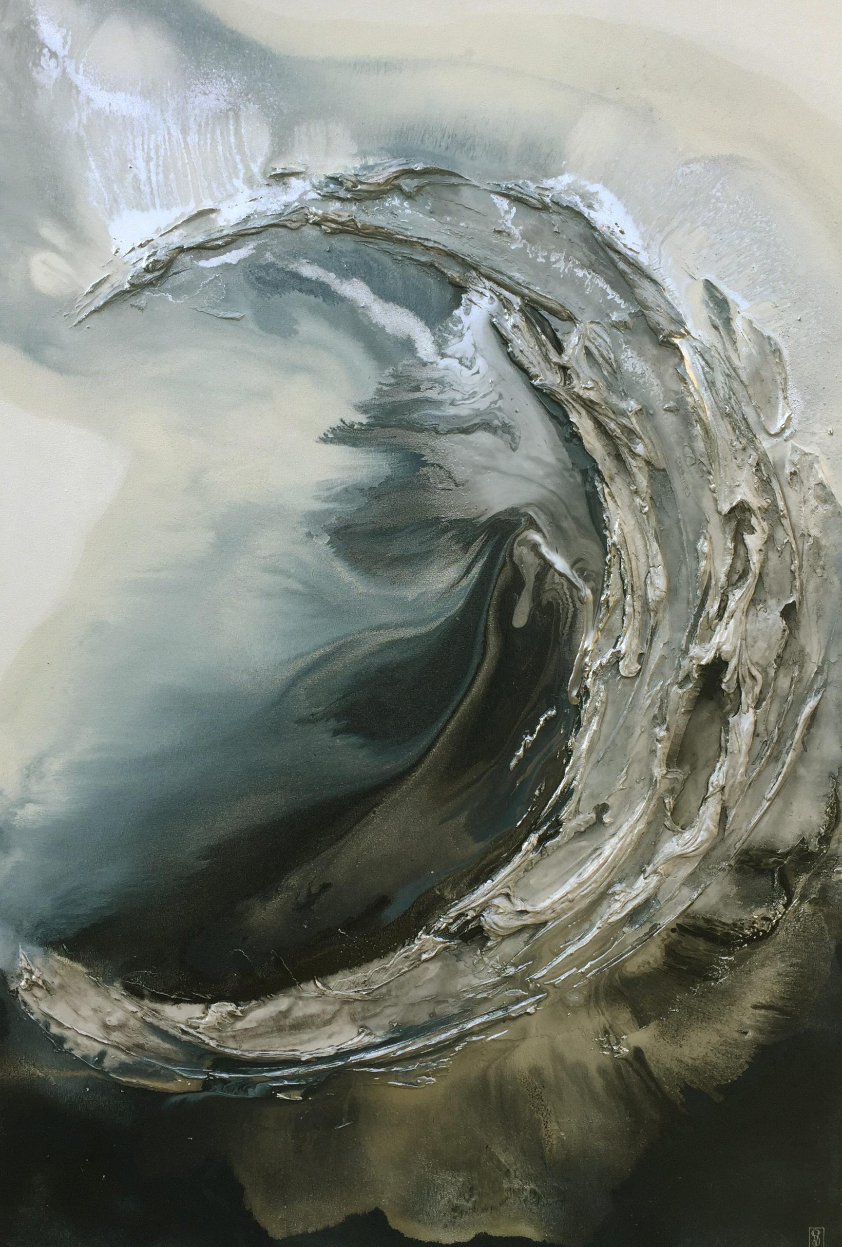 Vicky Sanders Oyster Series - Midnight Ocean Spirit