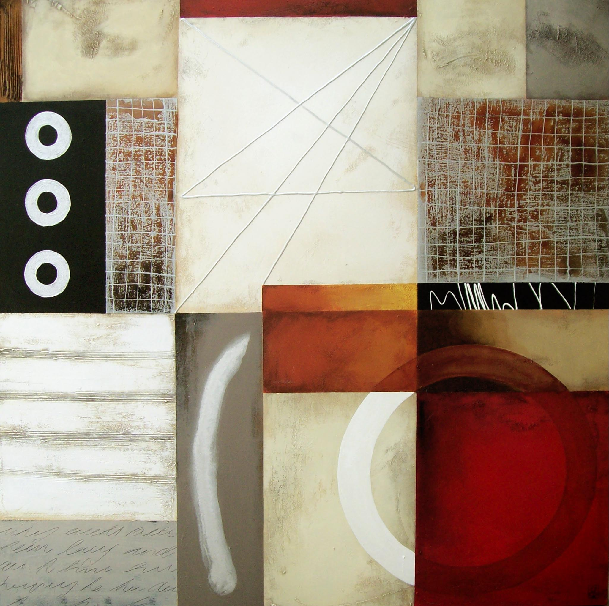 Vicky Sanders Abstract - Nautical