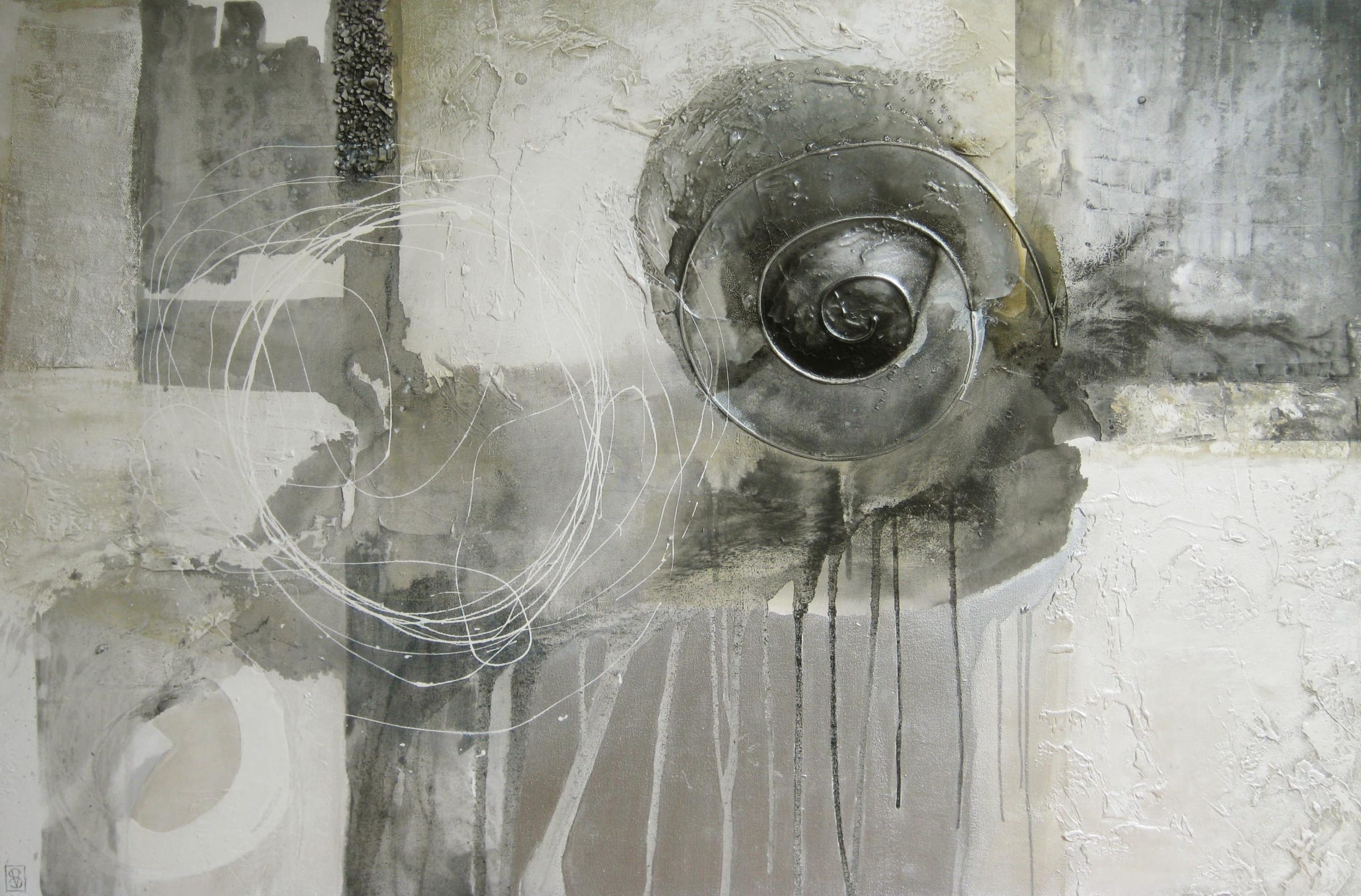 Vicky Sanders Abstract - Nordic Ice