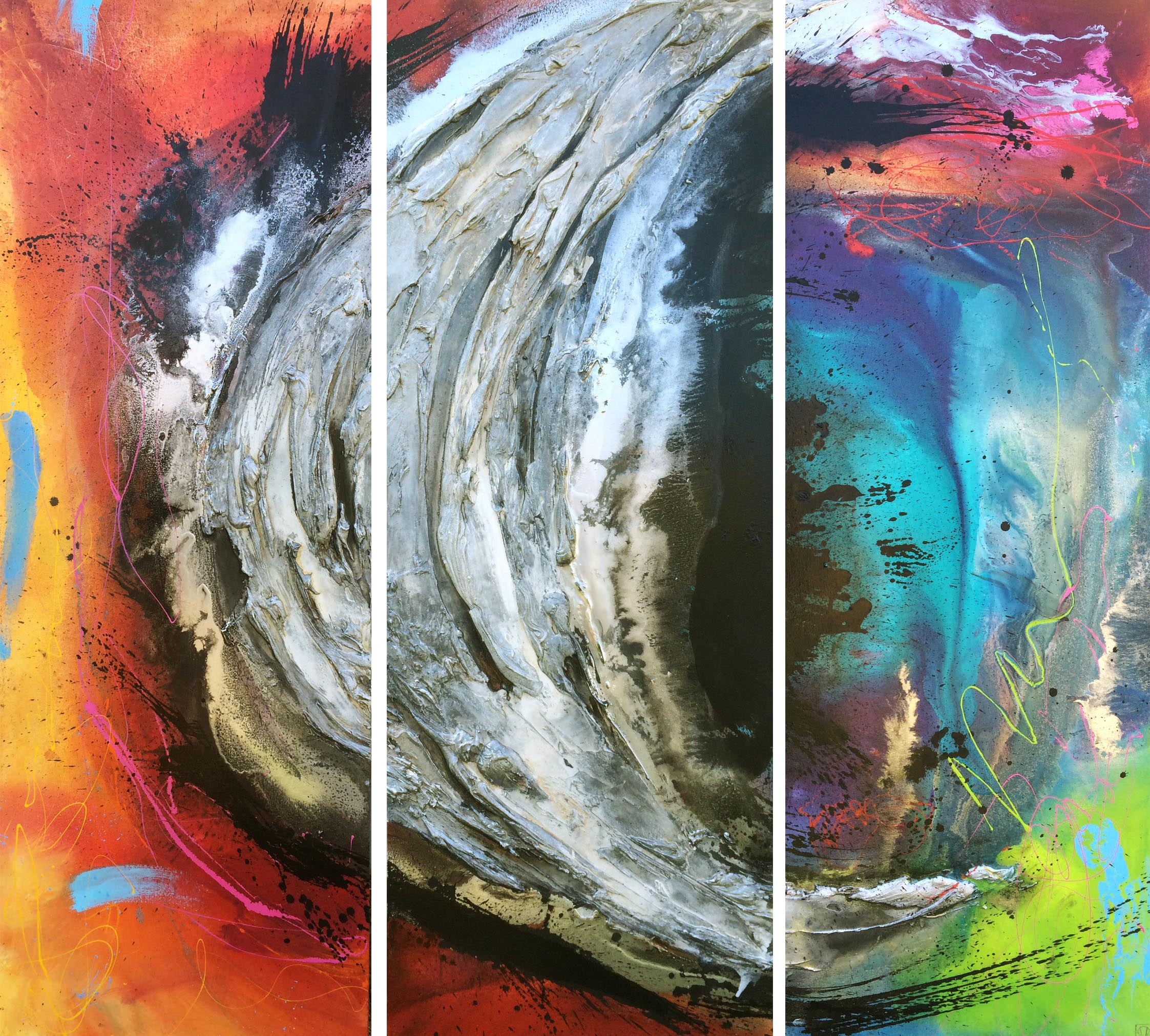 Vicky Sanders Abstract - Pan Galatic
