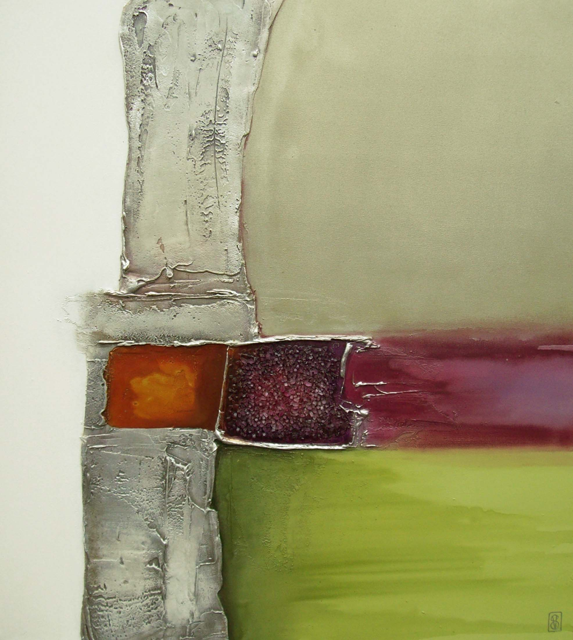 Vicky Sanders Abstract - Previous Beloved