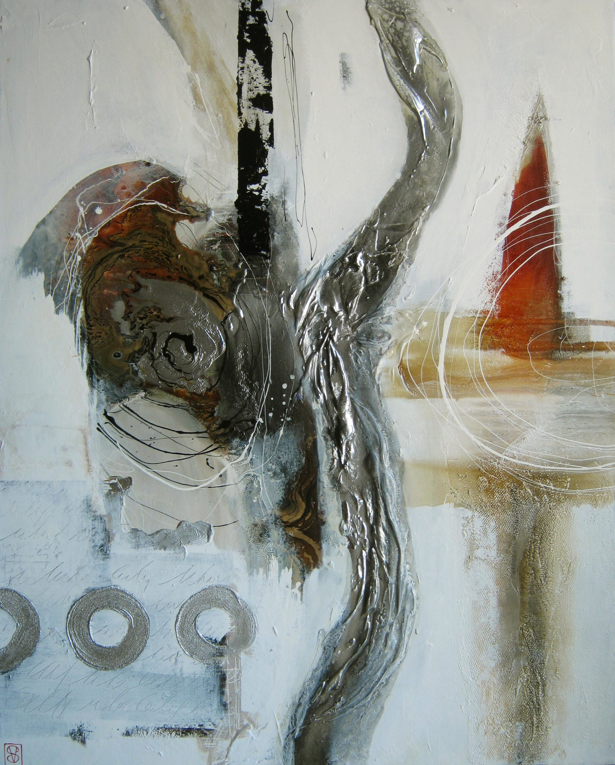 Vicky Sanders Abstract - Rocket