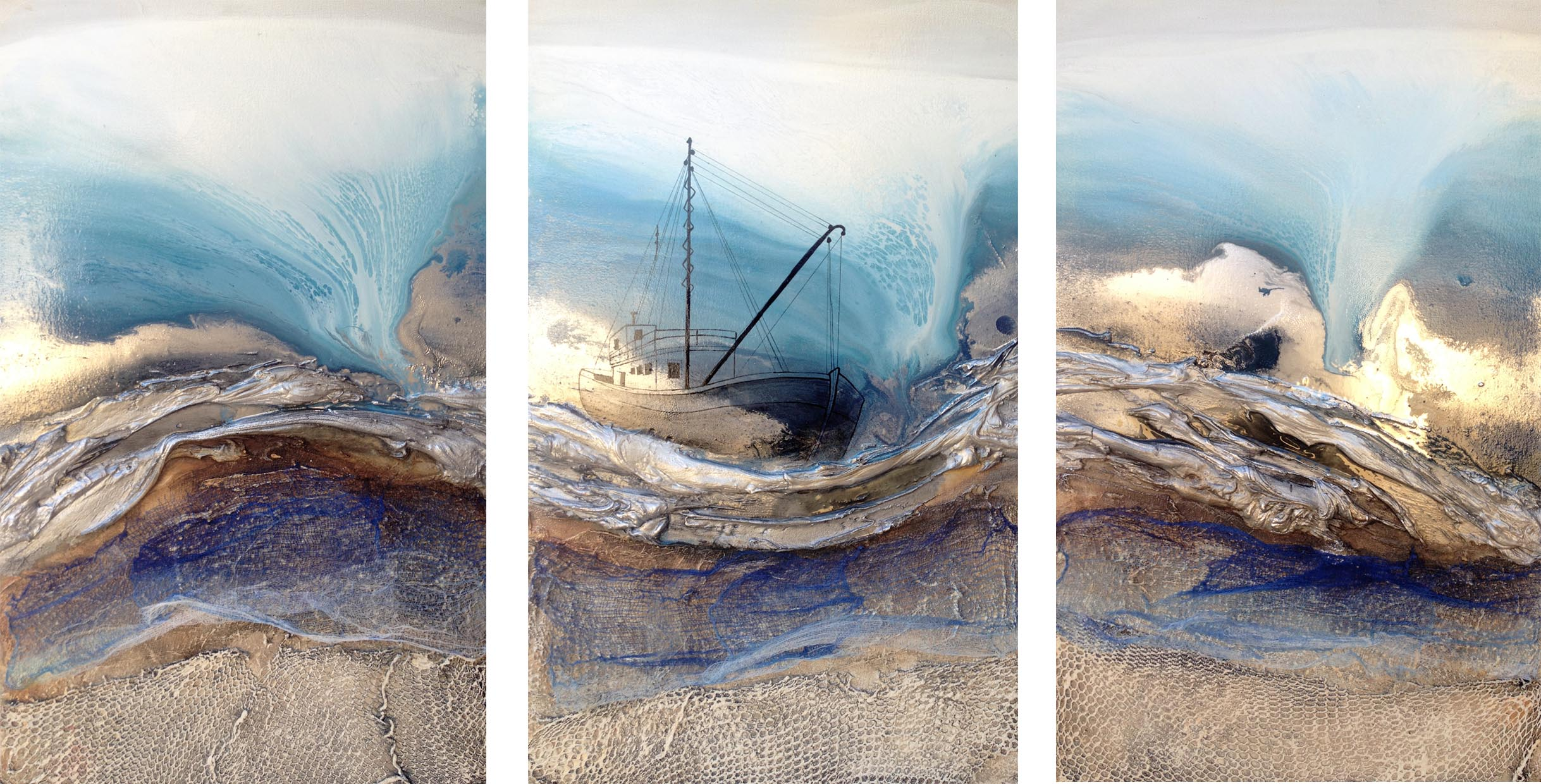 Vicky Sanders Seascapes - Sail Away