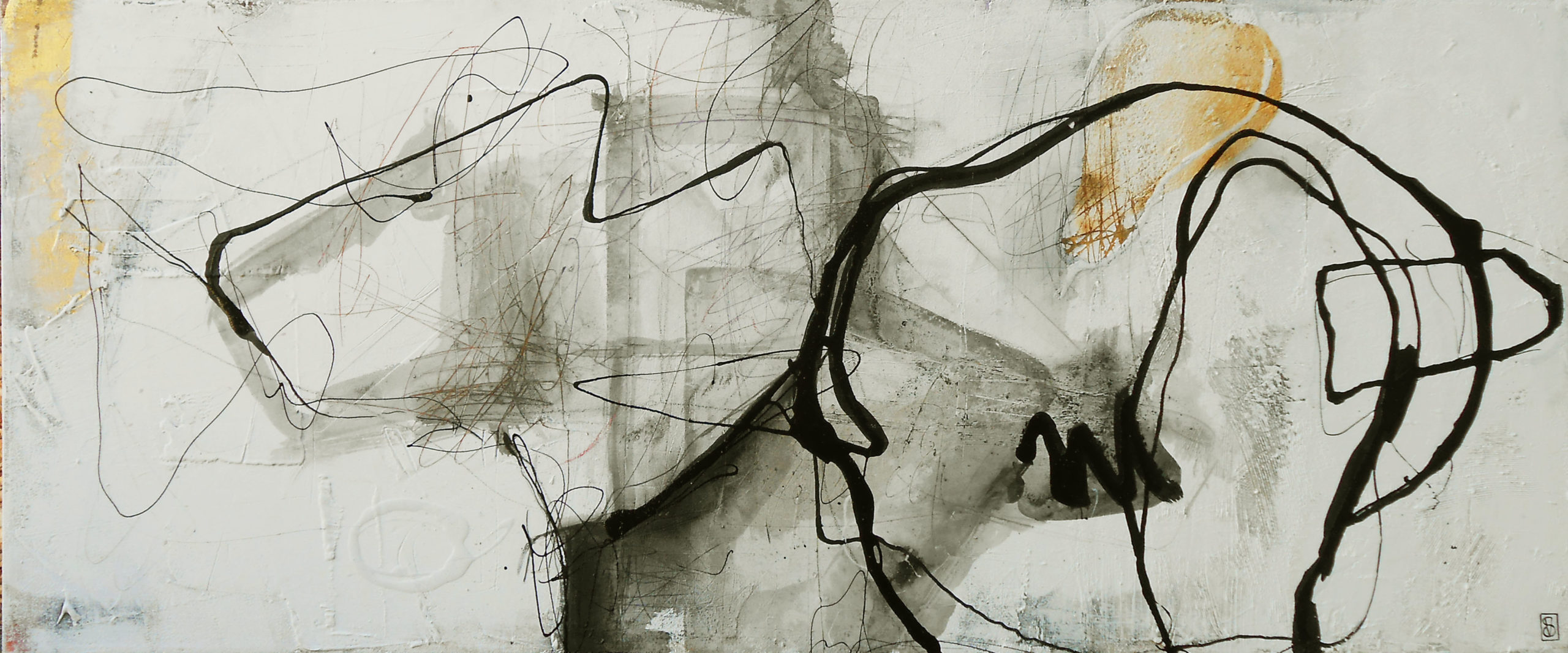 Vicky Sanders Abstract - Scribble