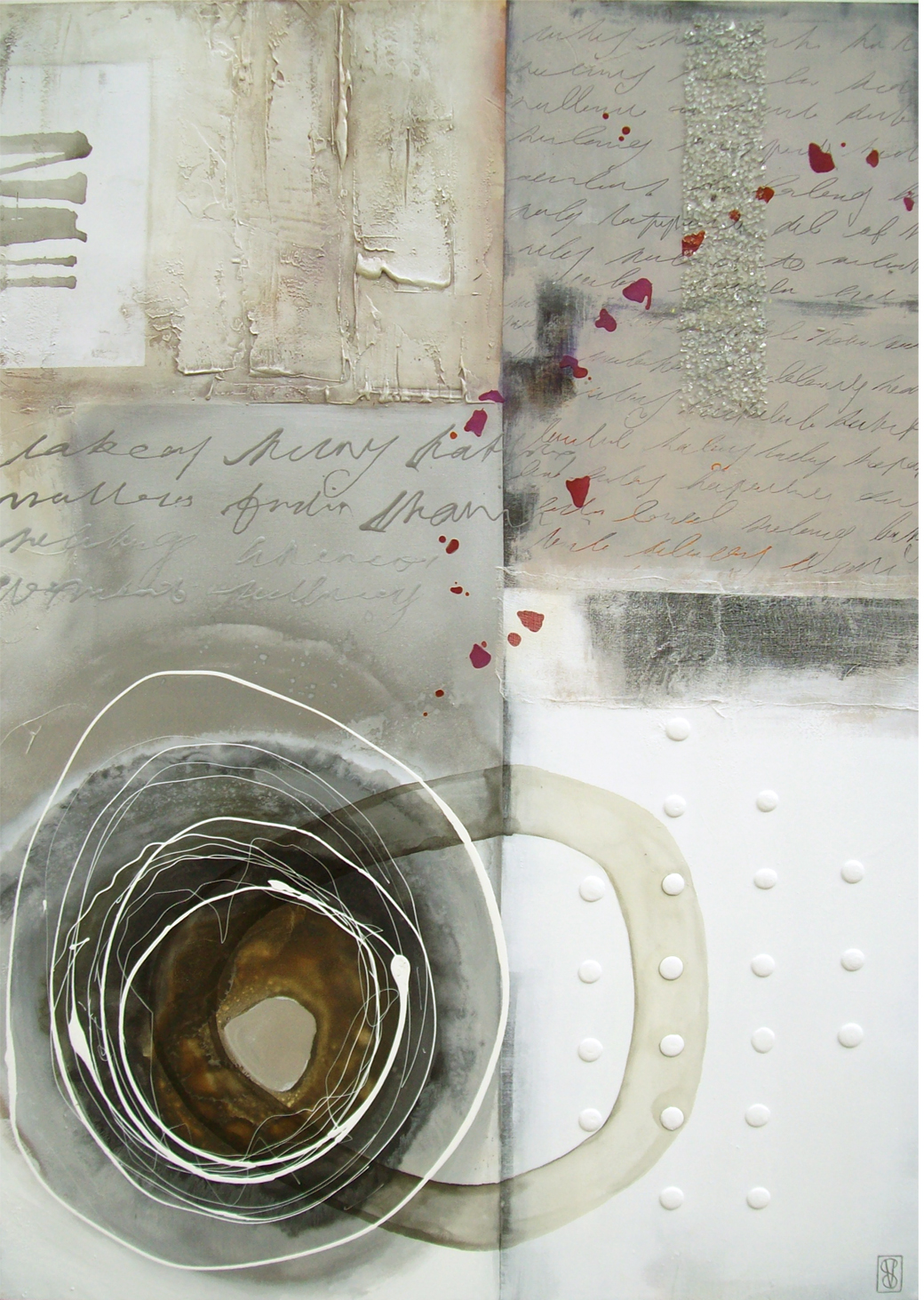 Vicky Sanders Abstract - Soap Treasure
