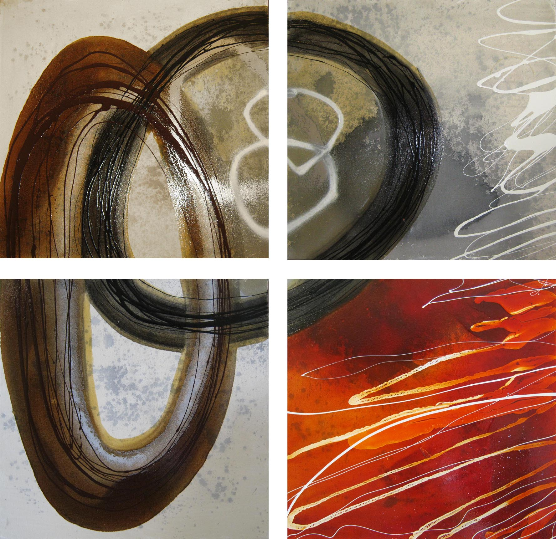 Vicky Sanders Abstract - Spin