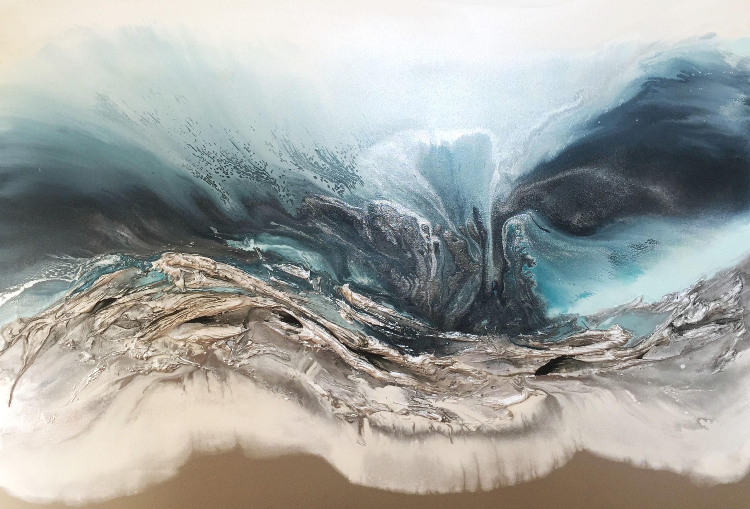 Vicky Sanders Seascapes - Square Seascape