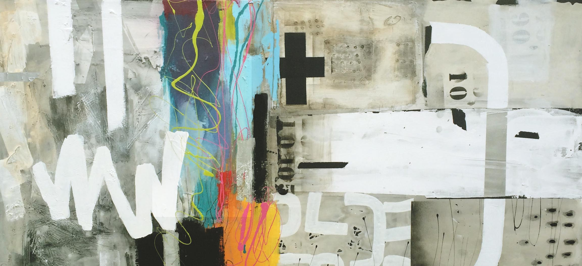 Vicky Sanders Abstract - Street Wise
