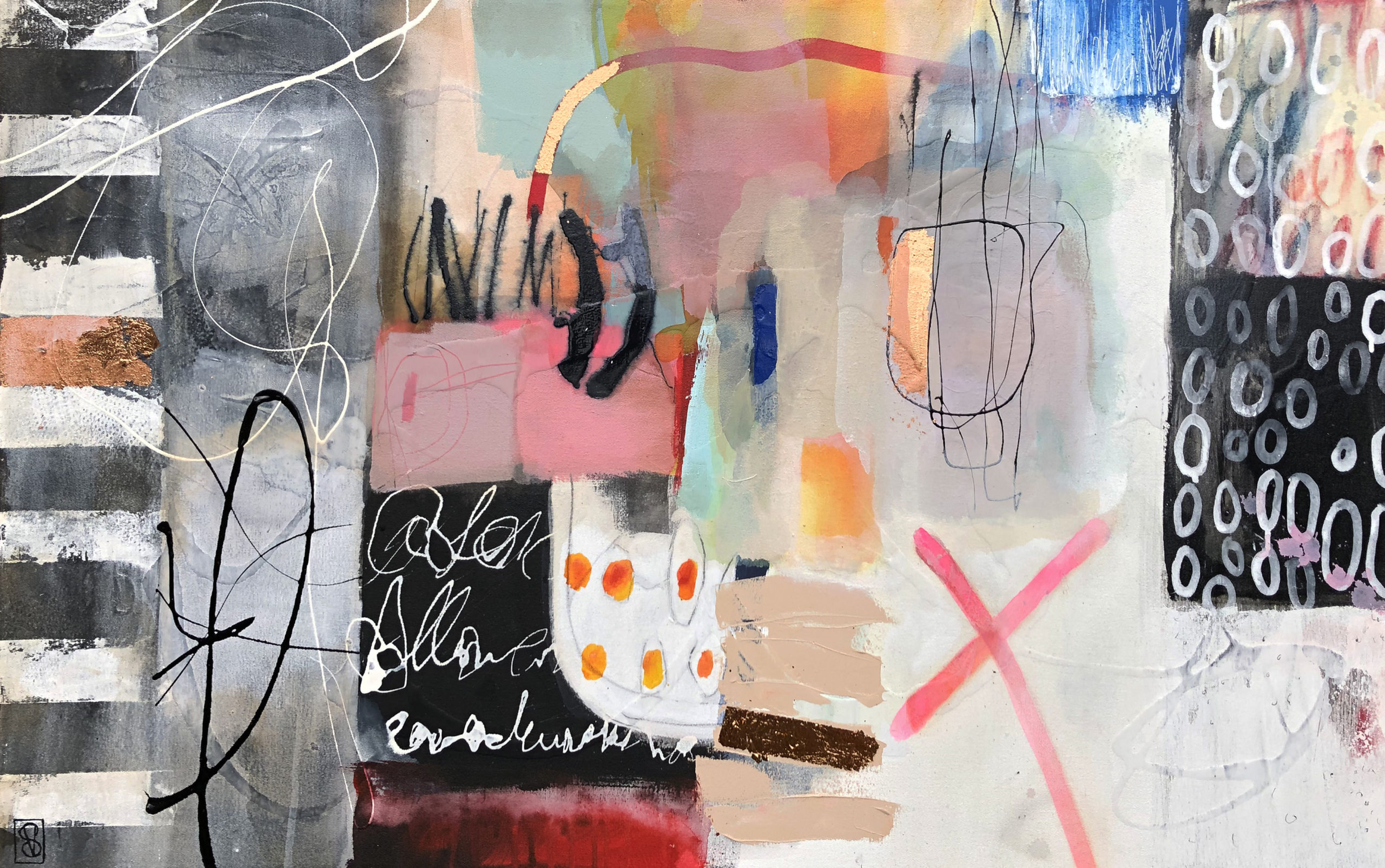 Vicky Sanders Abstract - Streetwise
