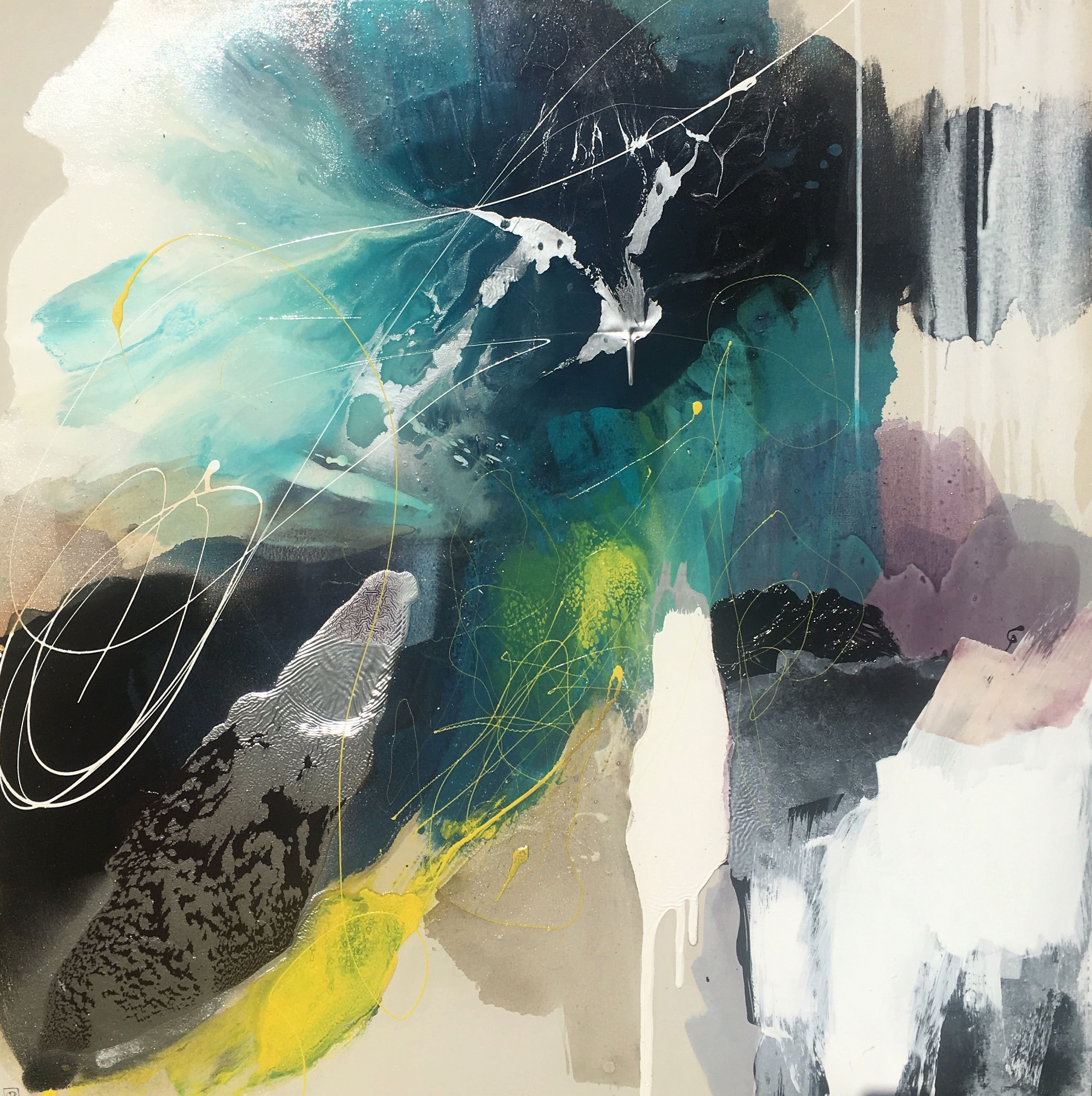 Vicky Sanders Abstract - Submerge