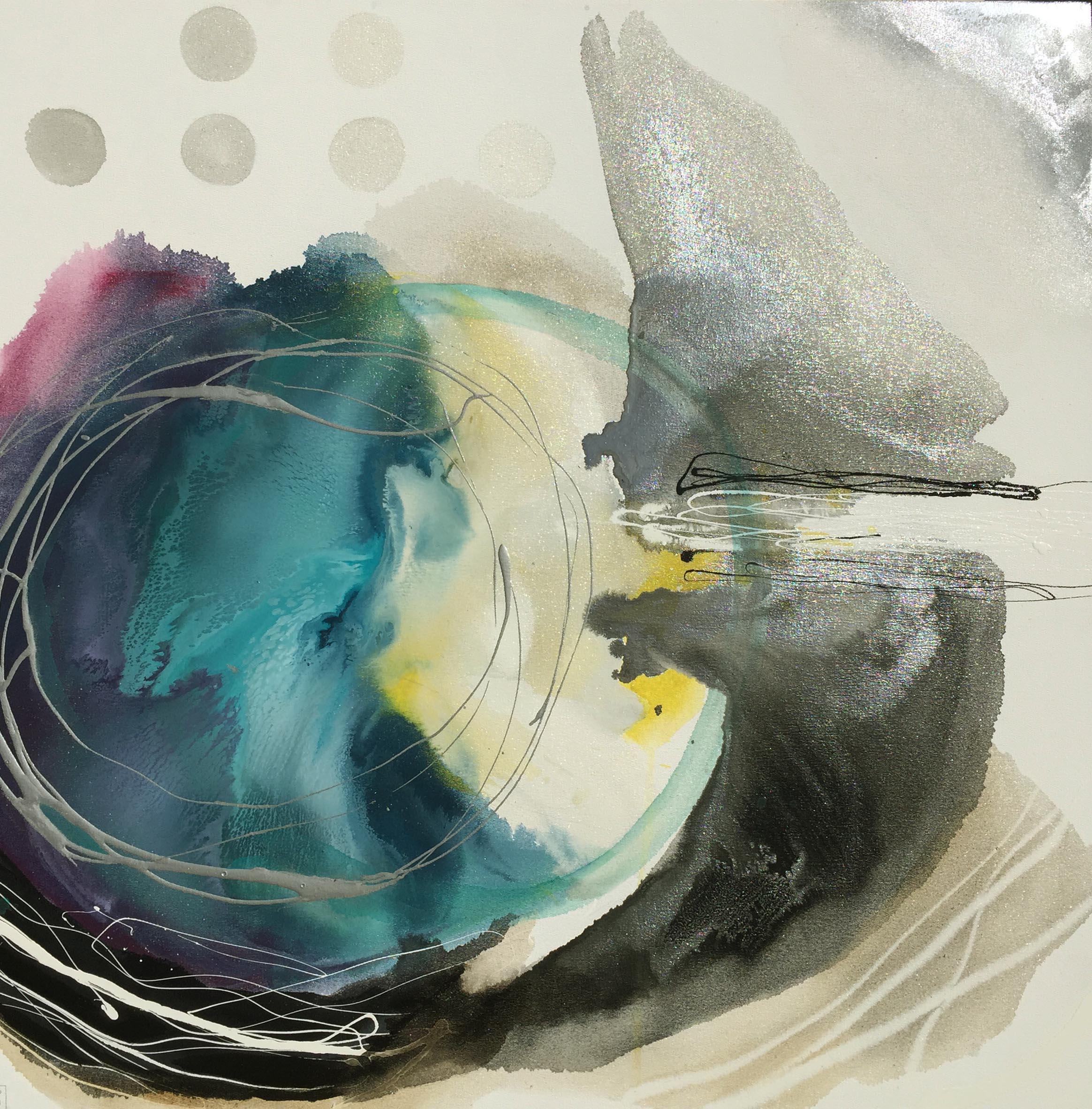 Vicky Sanders Abstract - Sun Bird