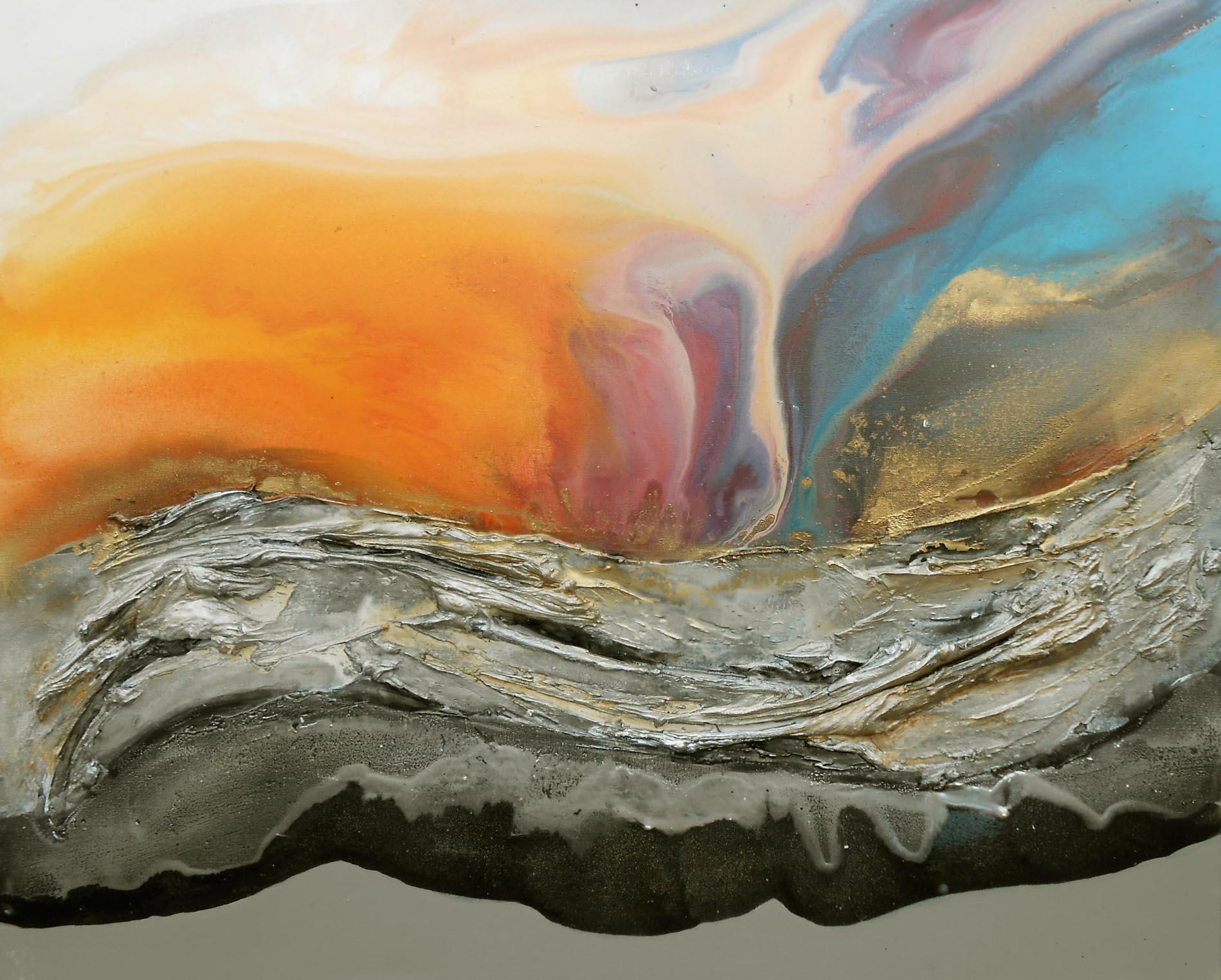 Vicky Sanders Seascapes - Sunset