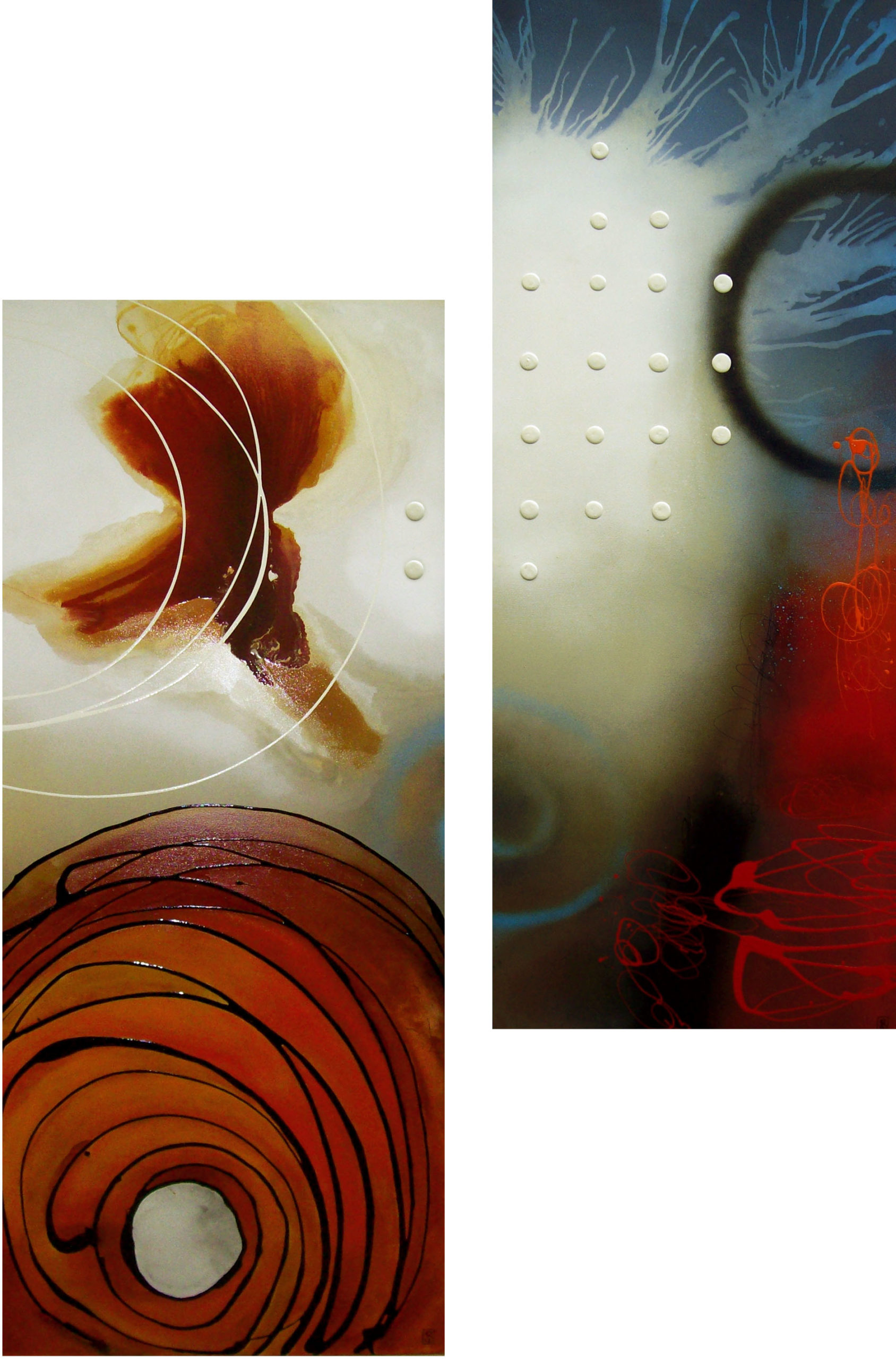 Vicky Sanders Abstract - Tigers Eye