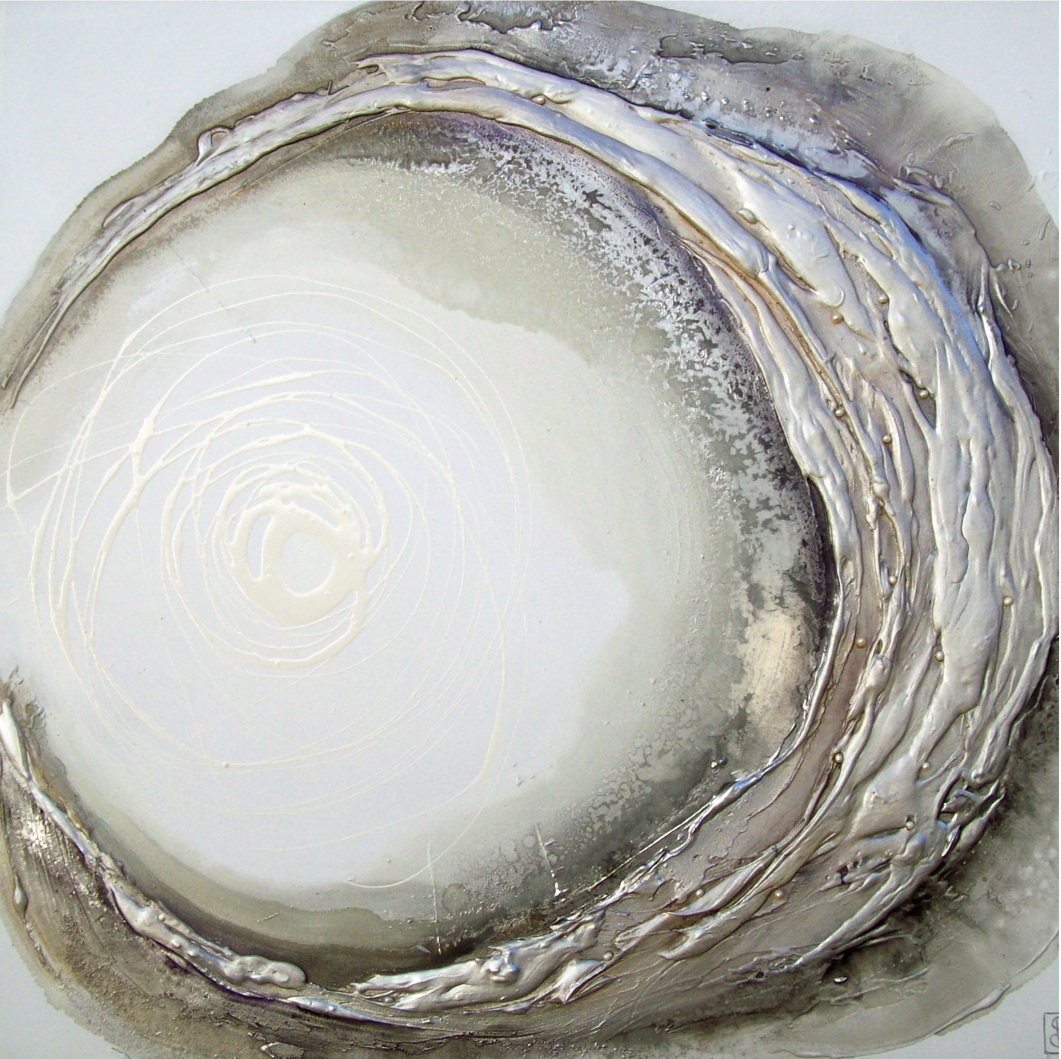 Vicky Sanders Oyster Series - White Oyster #1