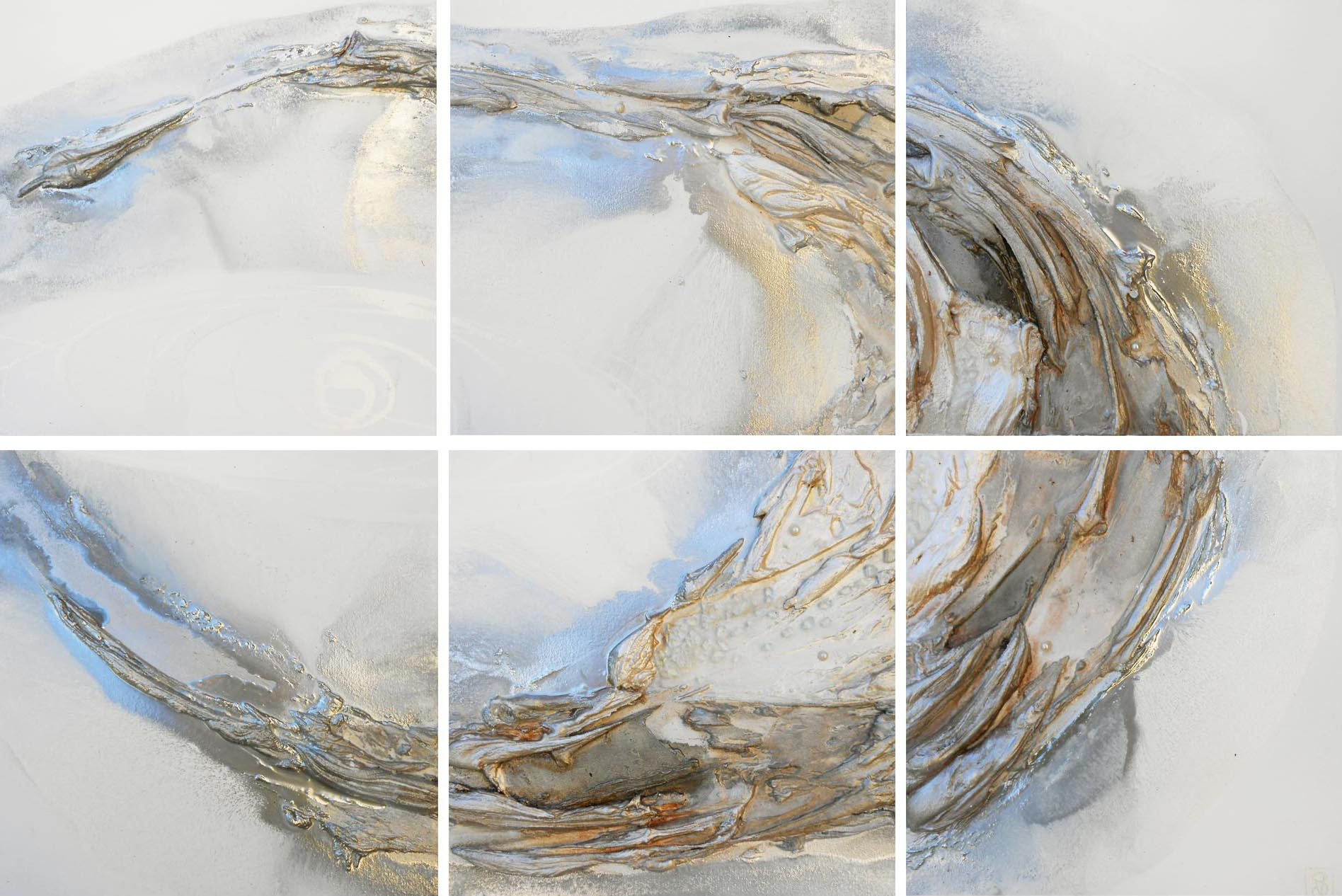 Vicky Sanders Oyster Series - White Oyster 6 Piece