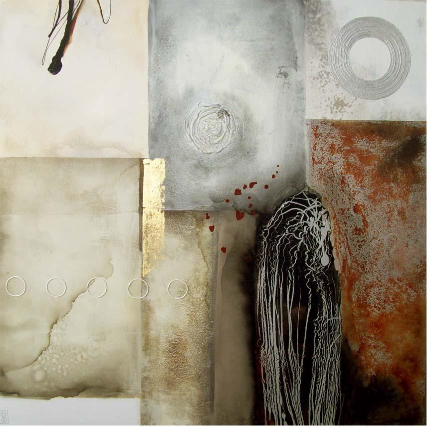 Vicky Sanders Abstract - Zen