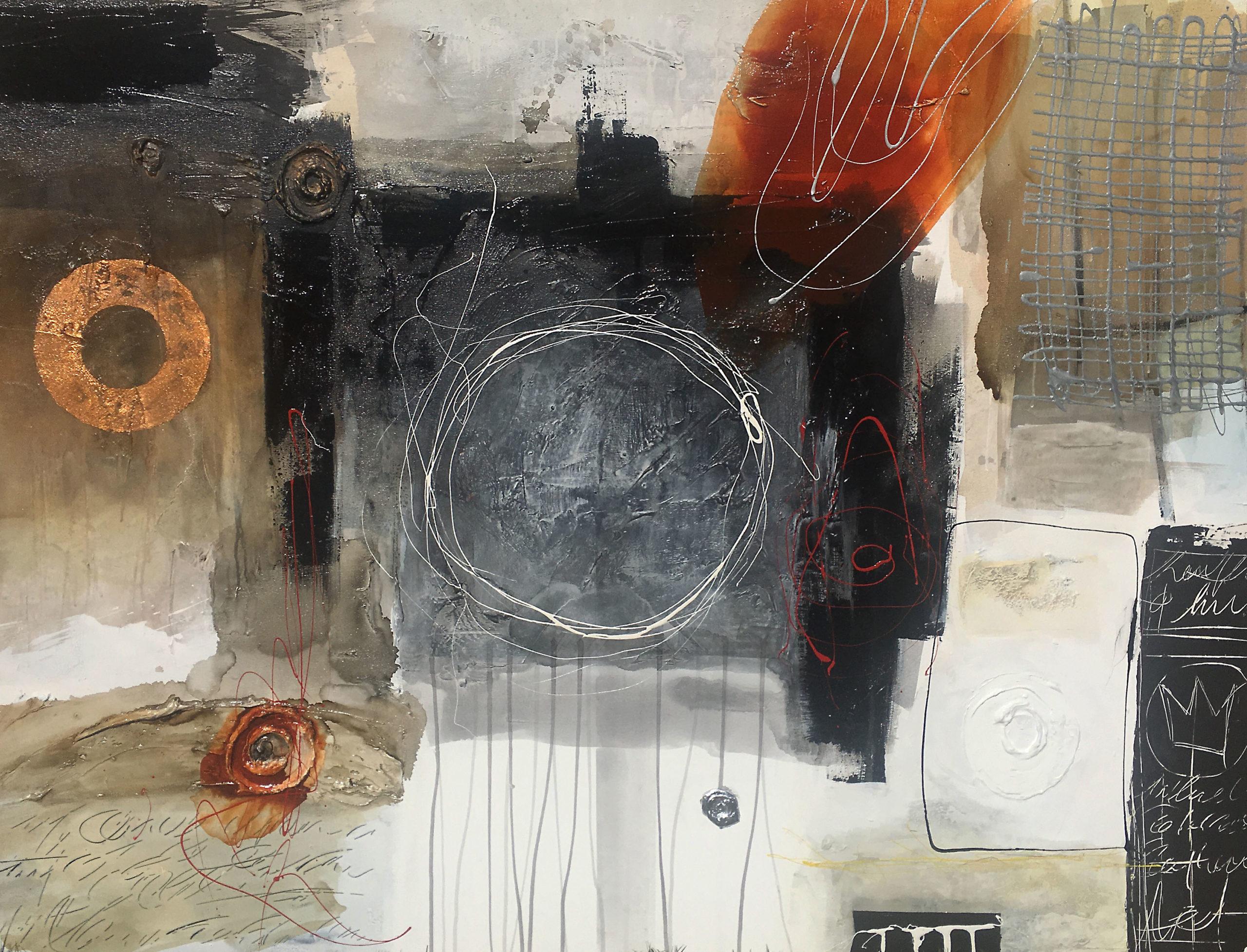 Vicky Sanders Abstract - Zingara