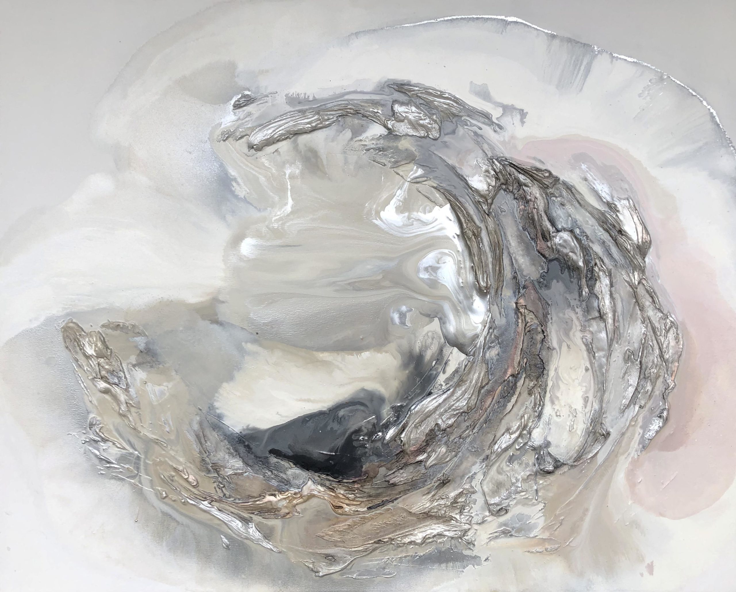 Vicky Sanders Oyster Series - Pink Oyster
